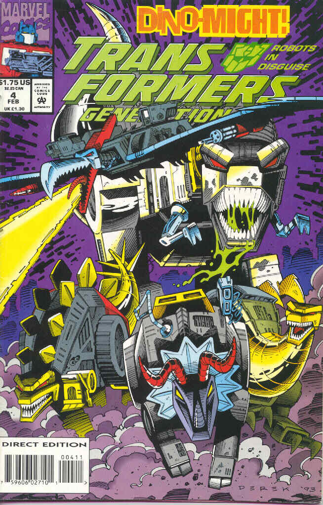 Read online Transformers: Generation 2 comic -  Issue #4 - 1