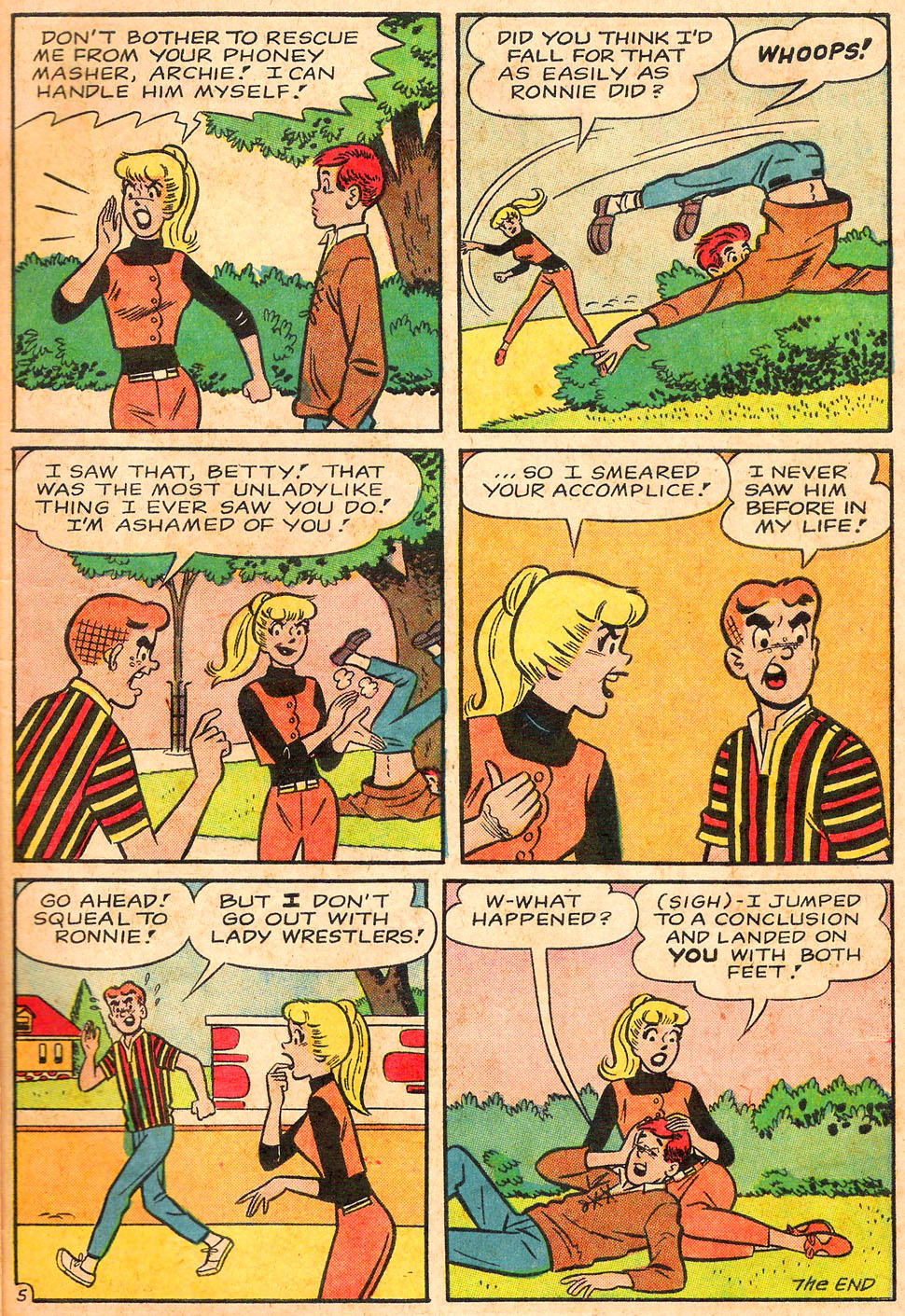 Read online Archie's Girls Betty and Veronica comic -  Issue #116 - 7