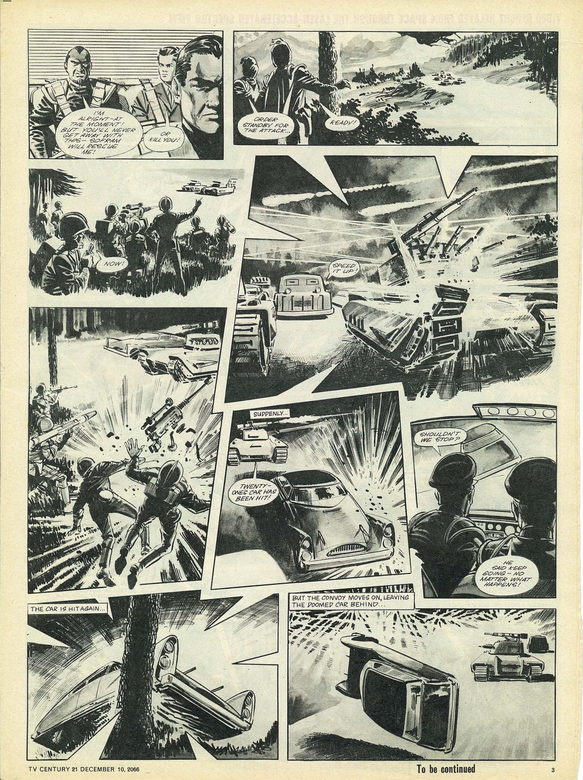 Read online TV Century 21 (TV 21) comic -  Issue #99 - 3