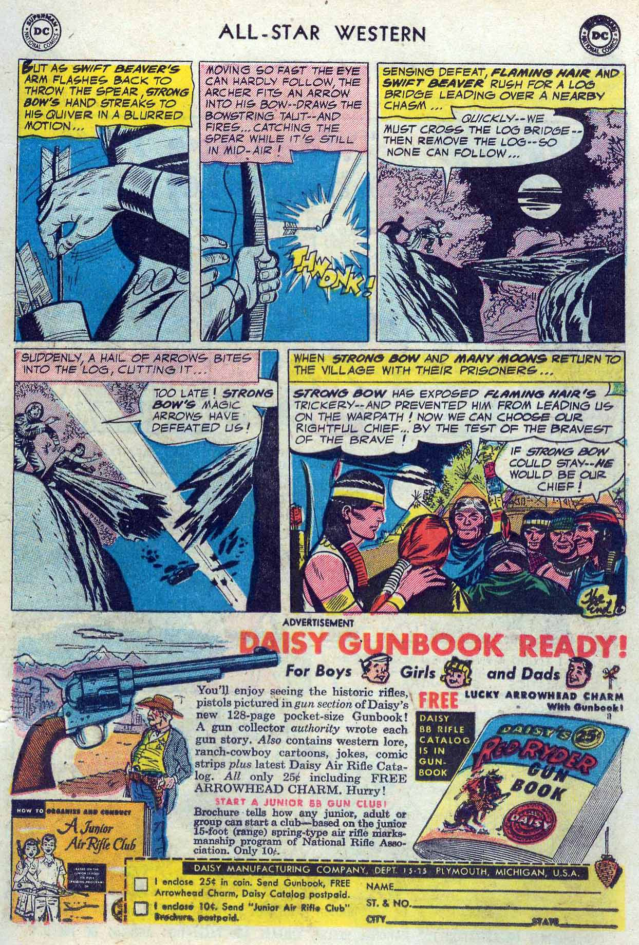 Read online All-Star Western (1951) comic -  Issue #85 - 17