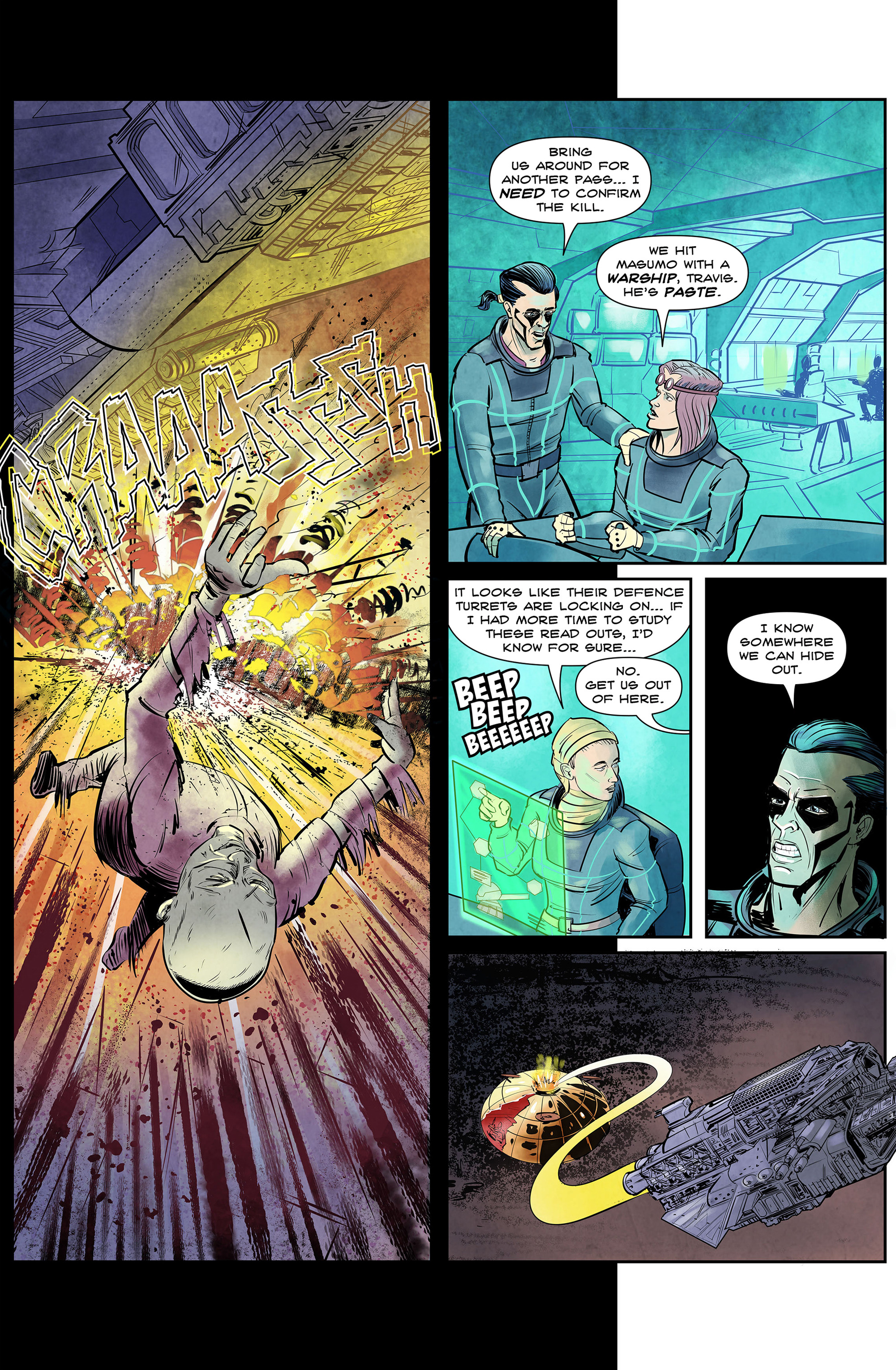 Read online 100% Biodegradable comic -  Issue #14 - 34