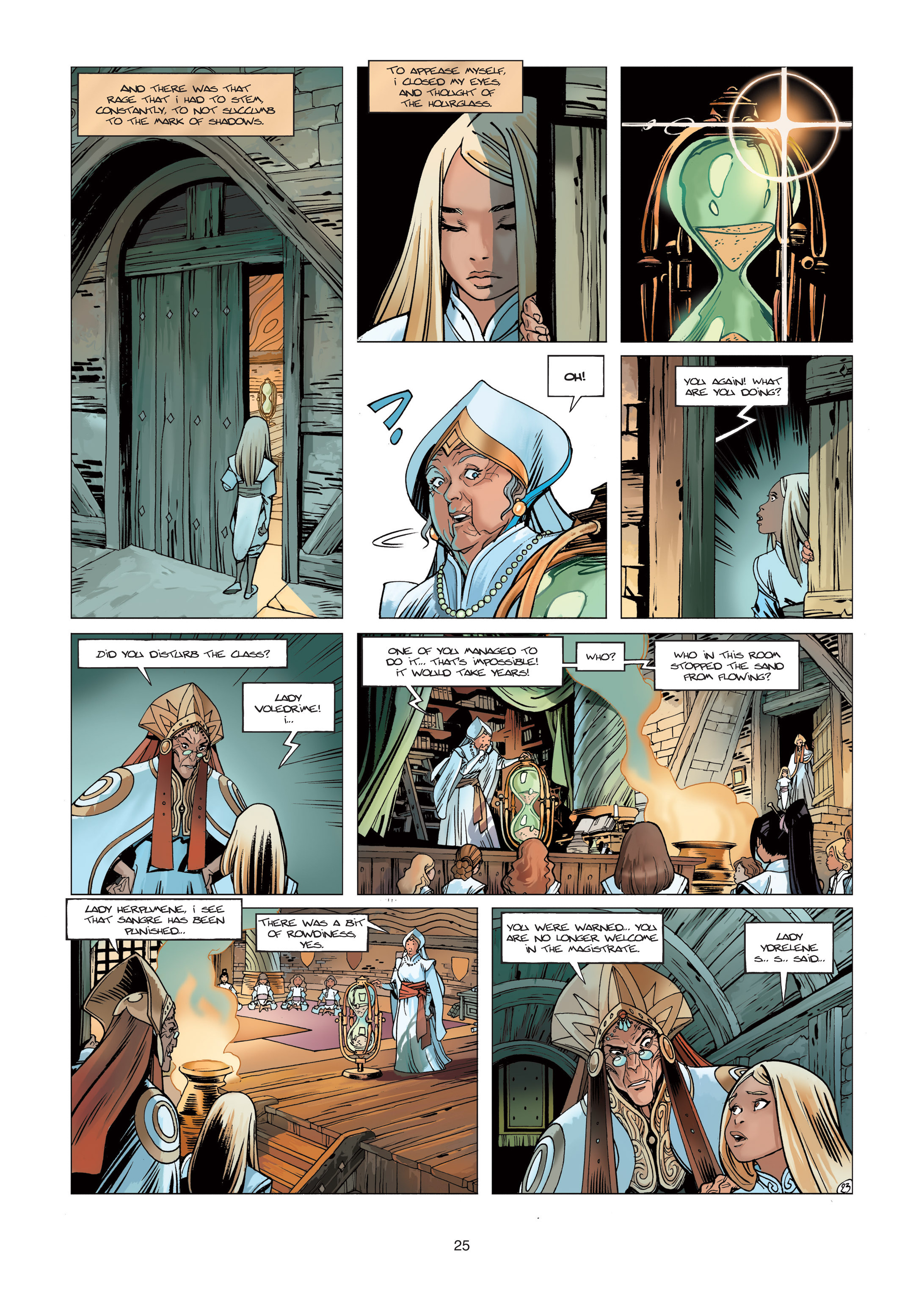 Read online Sangre Vol. 1: Sangre the Survivor comic -  Issue # Full - 25