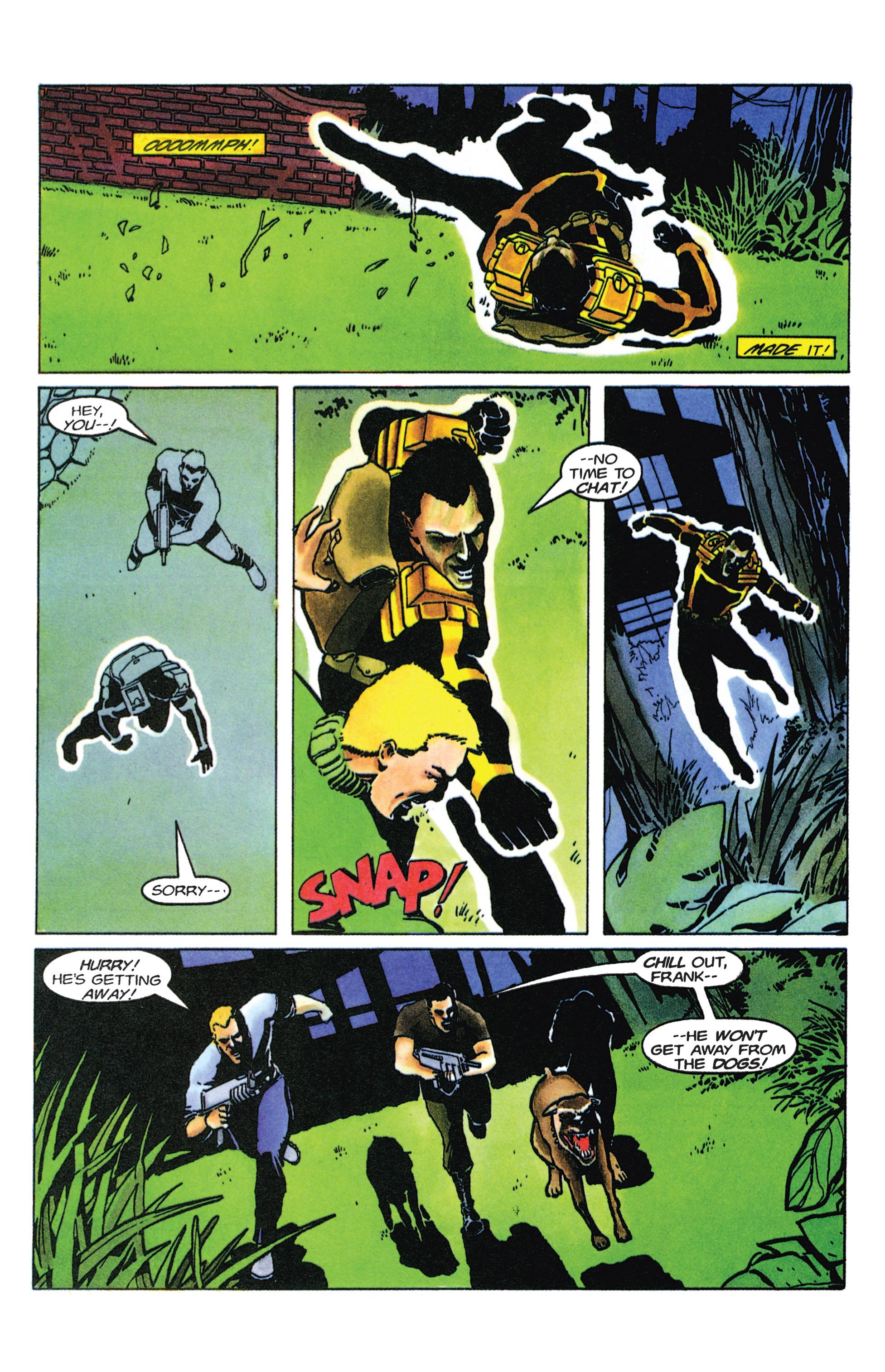 Read online Armorines comic -  Issue #9 - 15