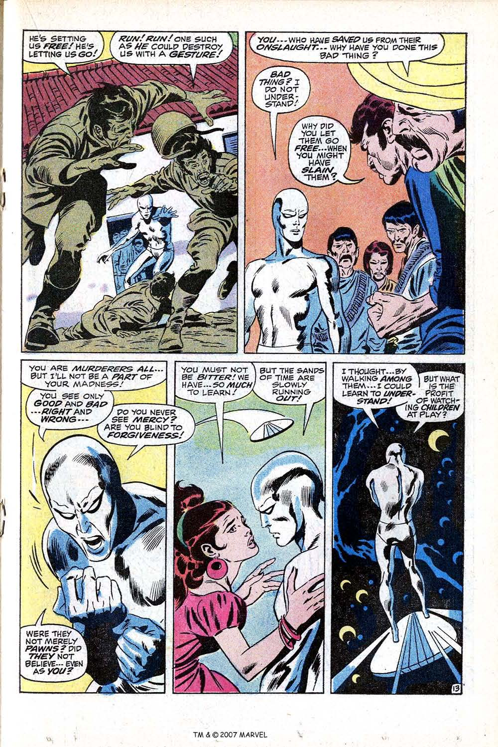 Read online Silver Surfer (1968) comic -  Issue #11 - 19