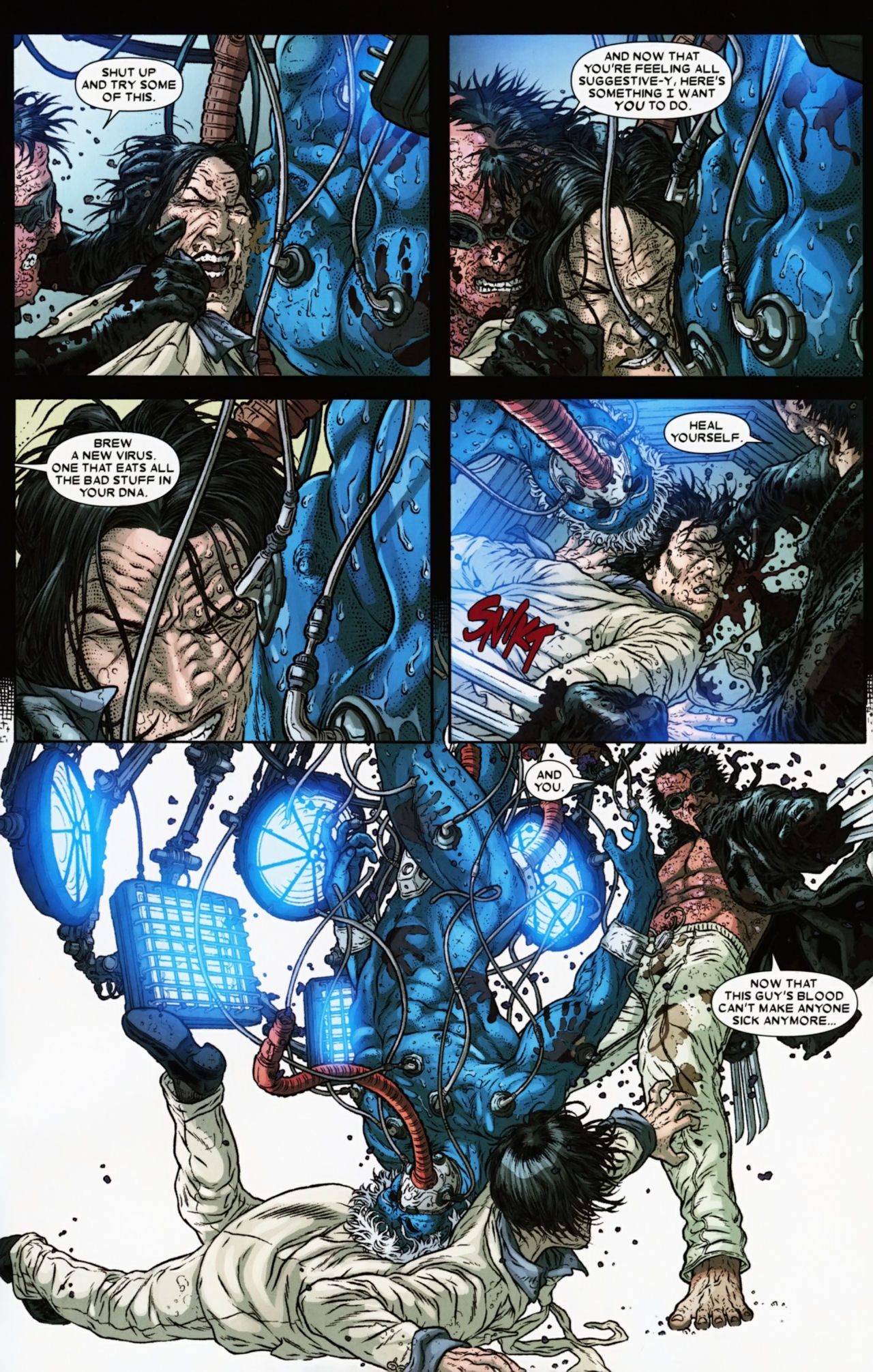Read online Wolverine: The Best There Is comic -  Issue #6 - 23