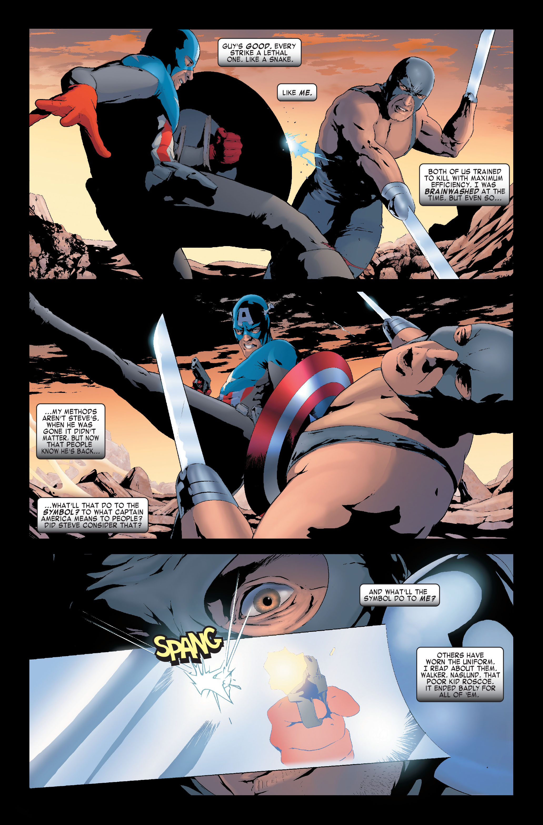 Read online Siege: Captain America comic -  Issue # Full - 16