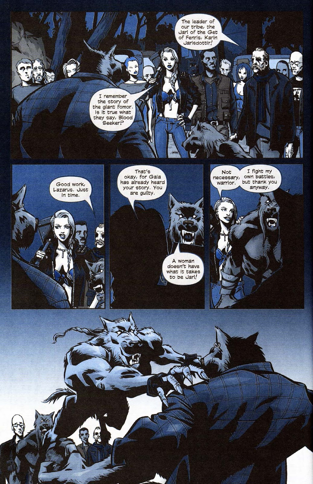 Read online Werewolf the Apocalypse comic -  Issue # Get of Fenris - 46