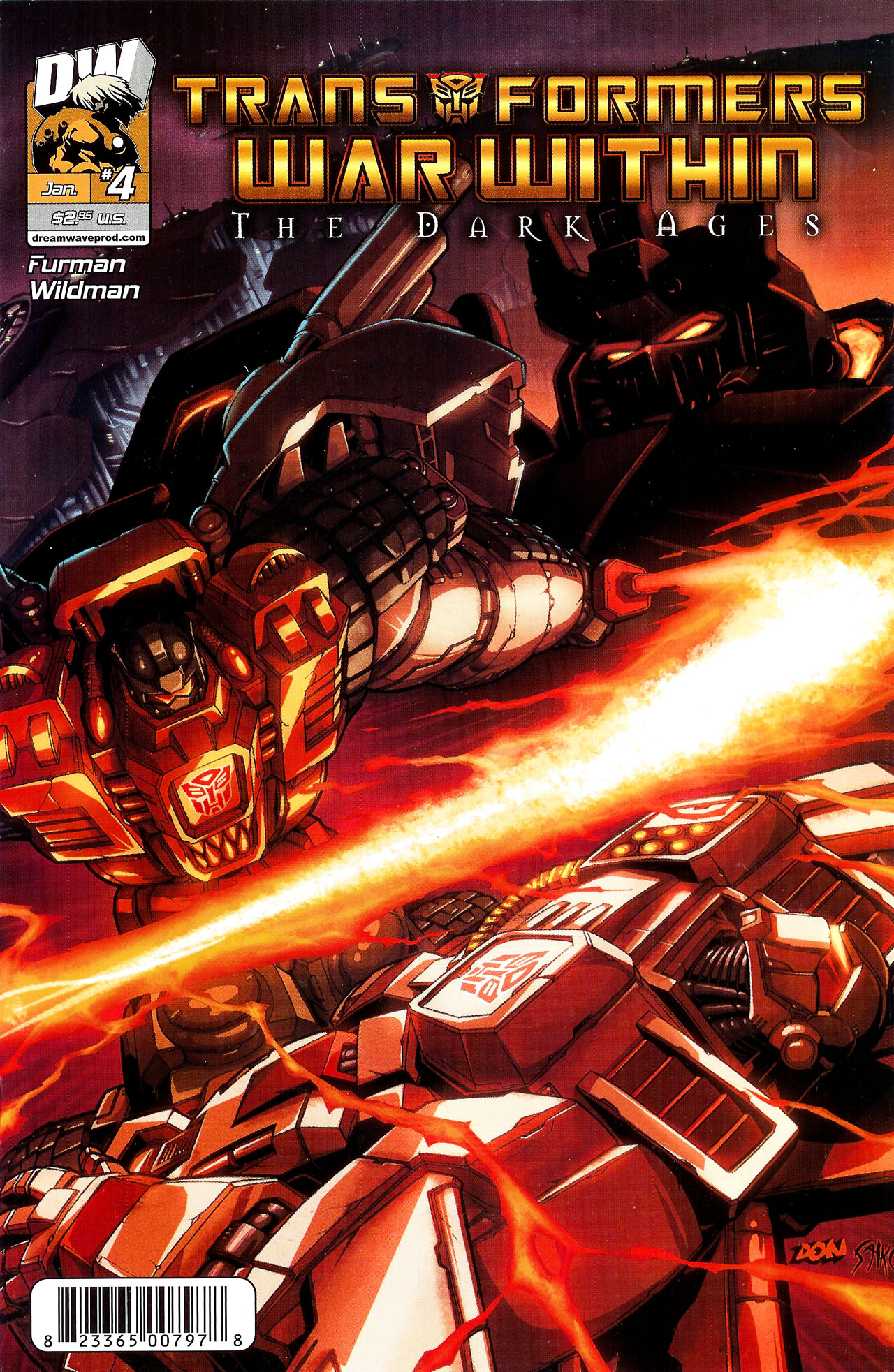 Transformers War Within: The Dark Ages 4 Page 1