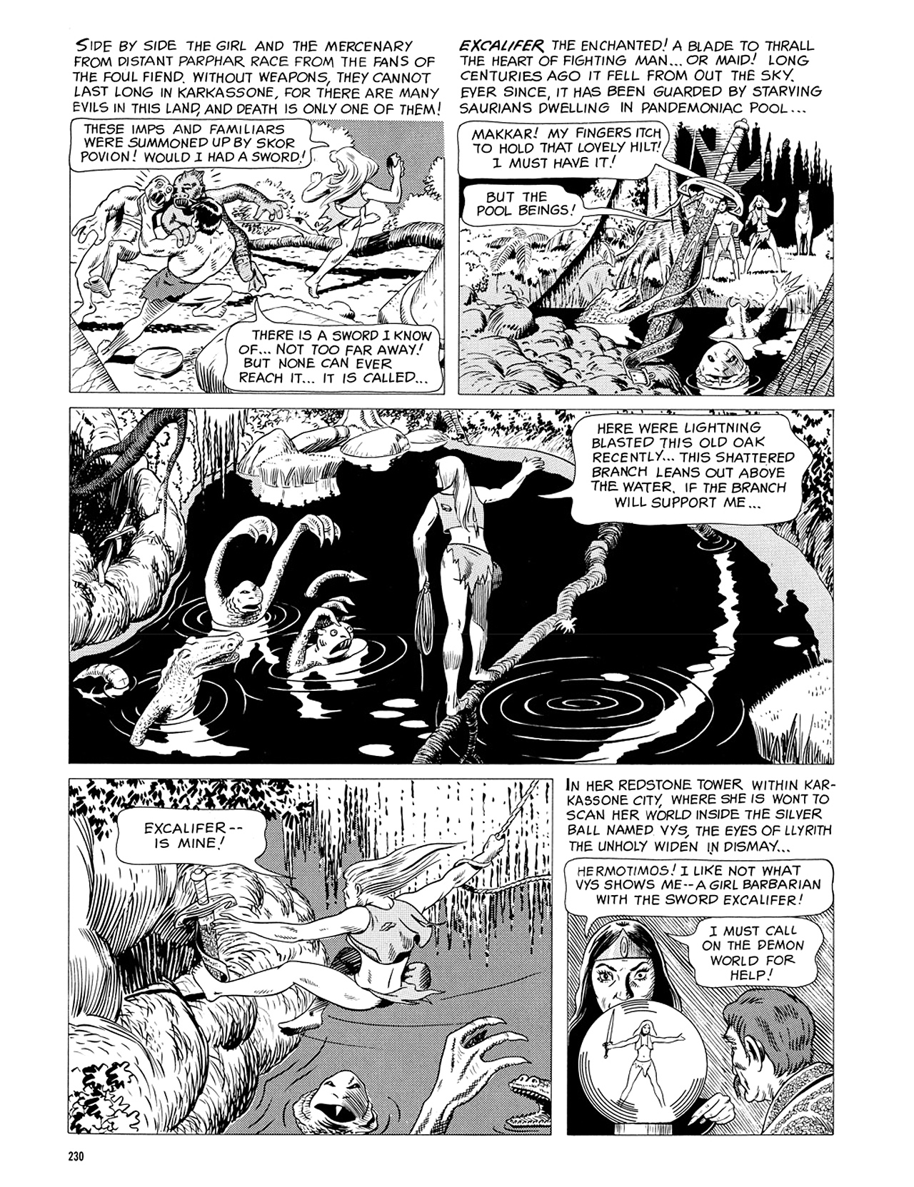 Read online Eerie Archives comic -  Issue # TPB 5 - 231