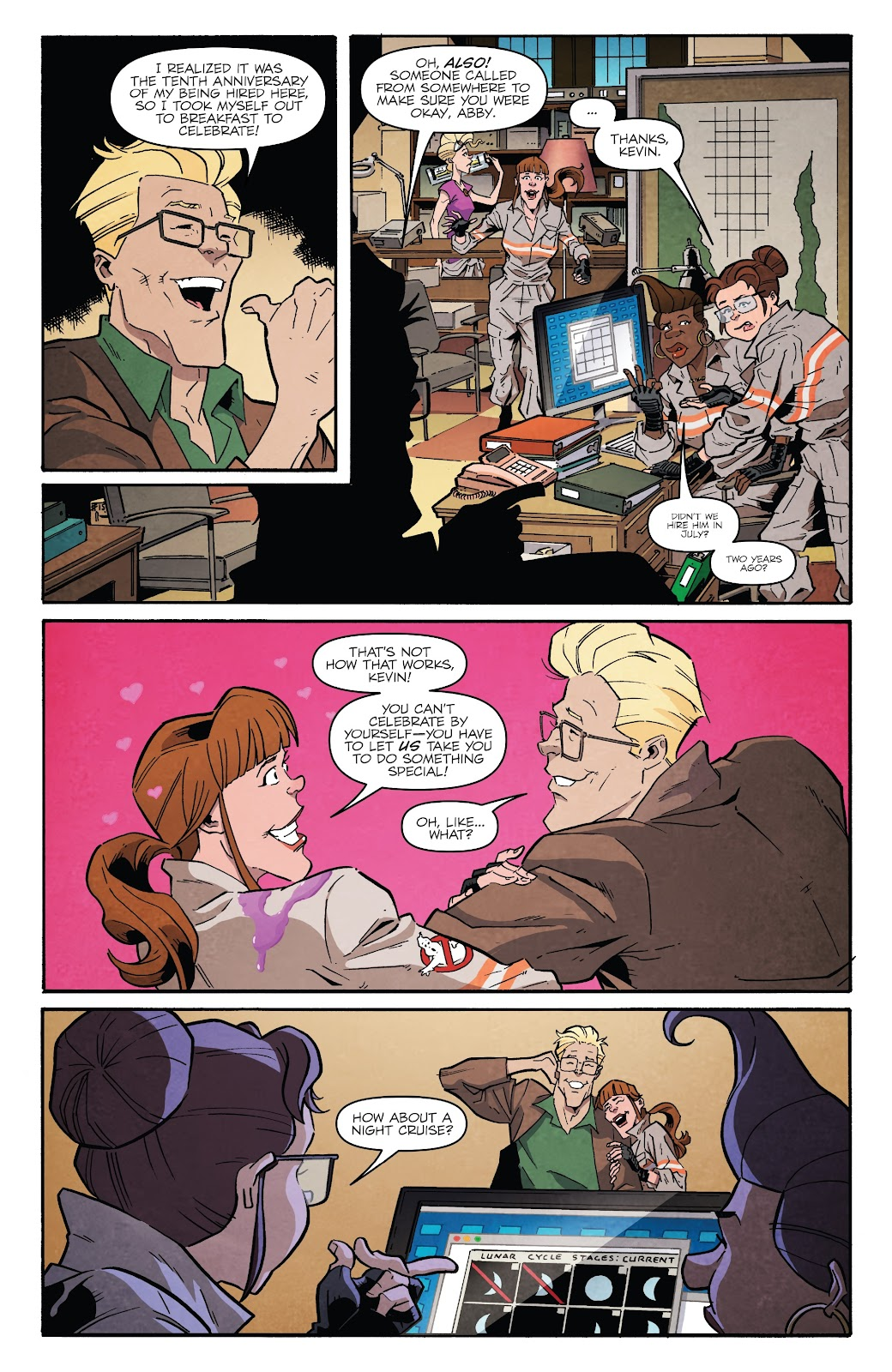 Read online Answer the Call Ghostbusters 35th Anniversary comic -  Issue # Full - 17