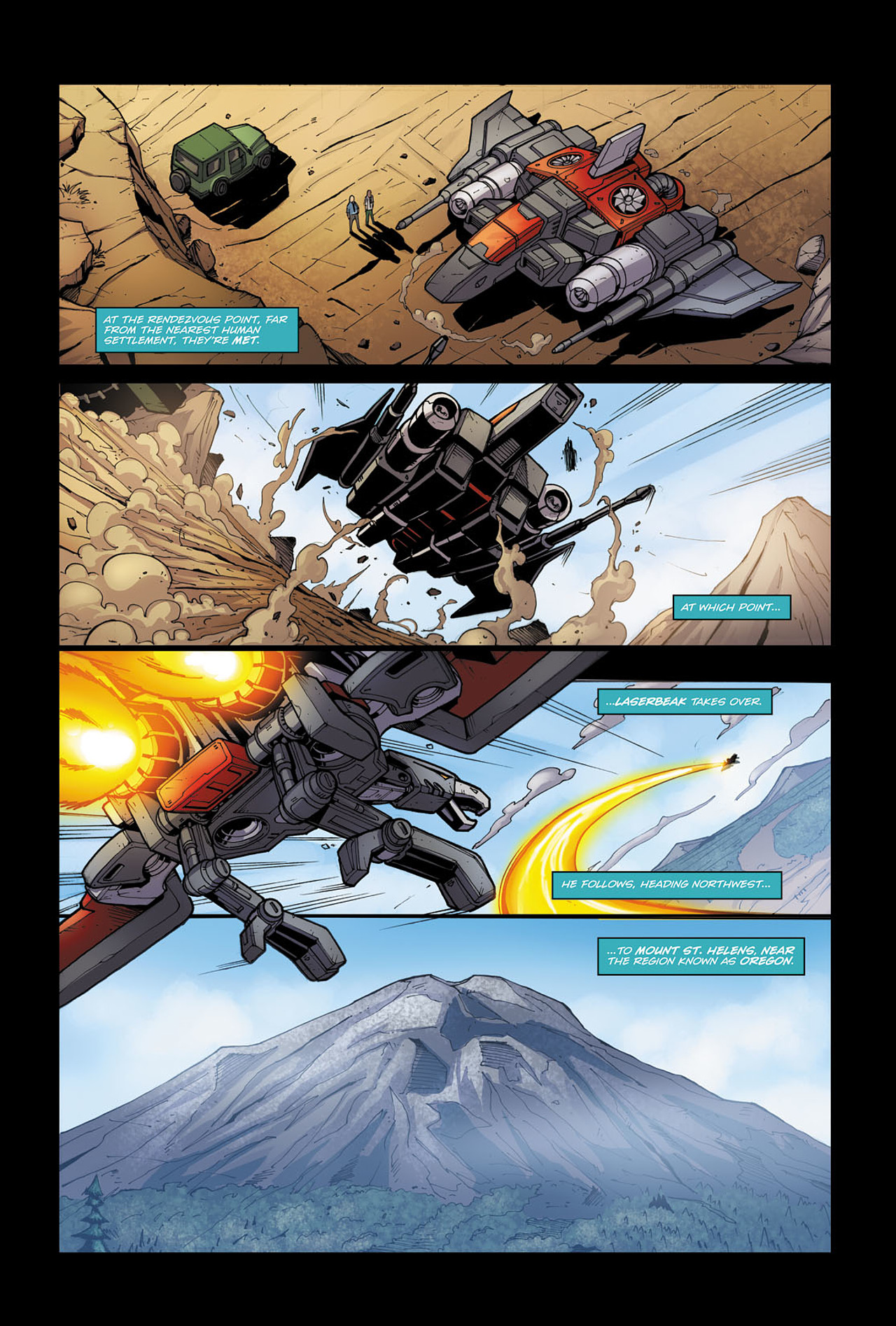 Read online Transformers Spotlight: Soundwave comic -  Issue # Full - 10