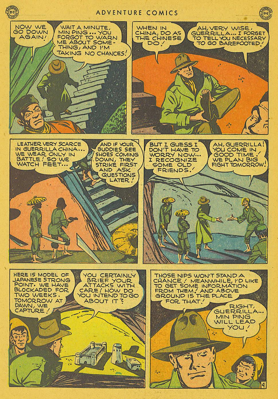 Read online Adventure Comics (1938) comic -  Issue #102 - 36