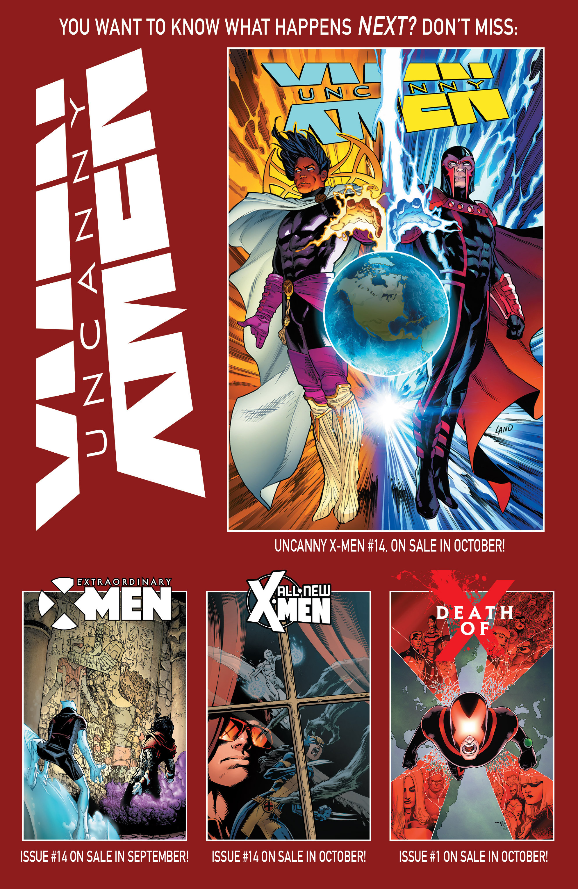 Read online Uncanny X-Men (2016) comic -  Issue #13 - 23