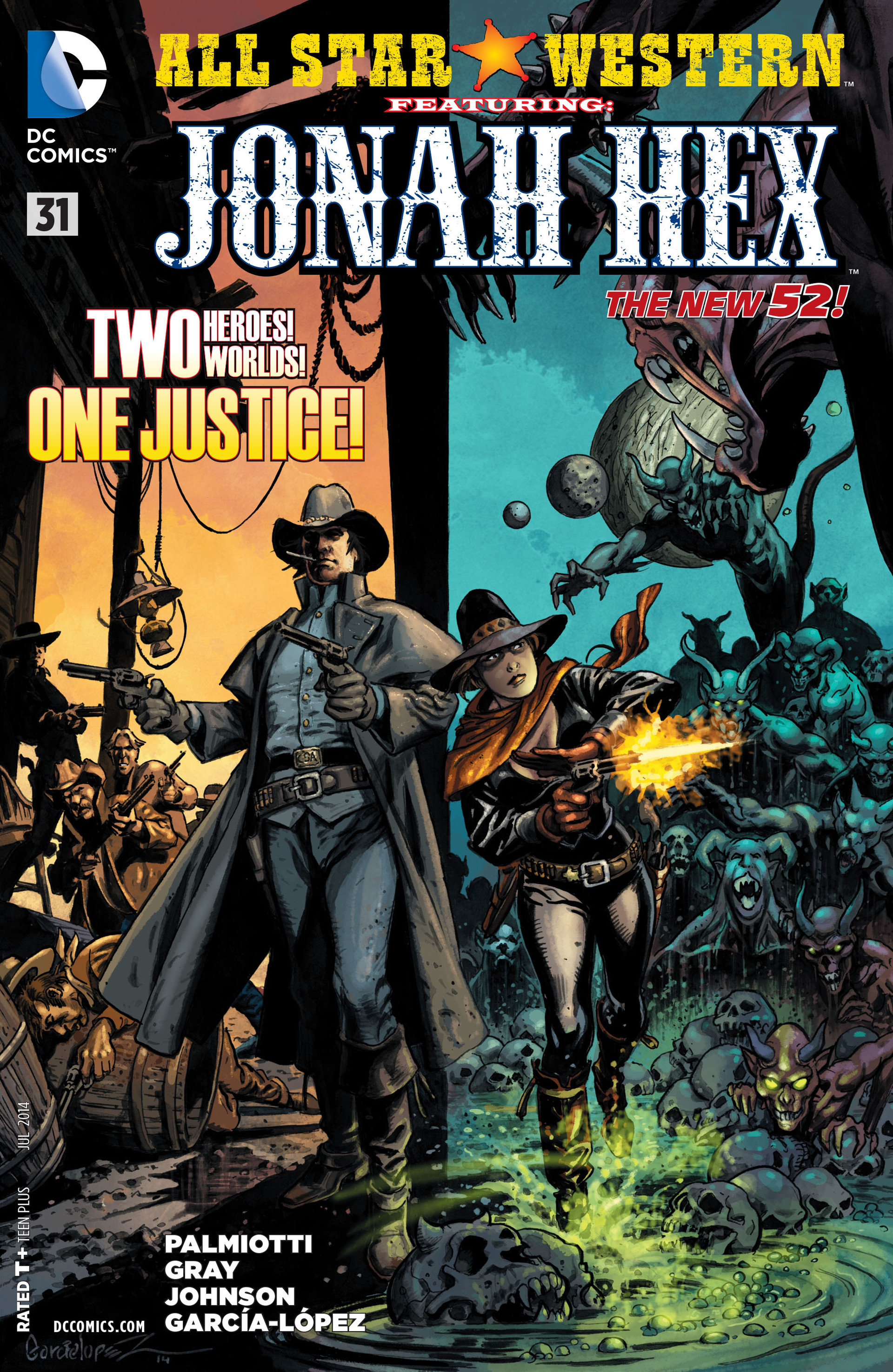 Read online All-Star Western (2011) comic -  Issue #31 - 1