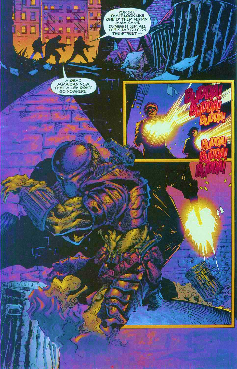 Read online Overkill: Witchblade/Aliens/Darkness/Predator comic -  Issue #1 - 25