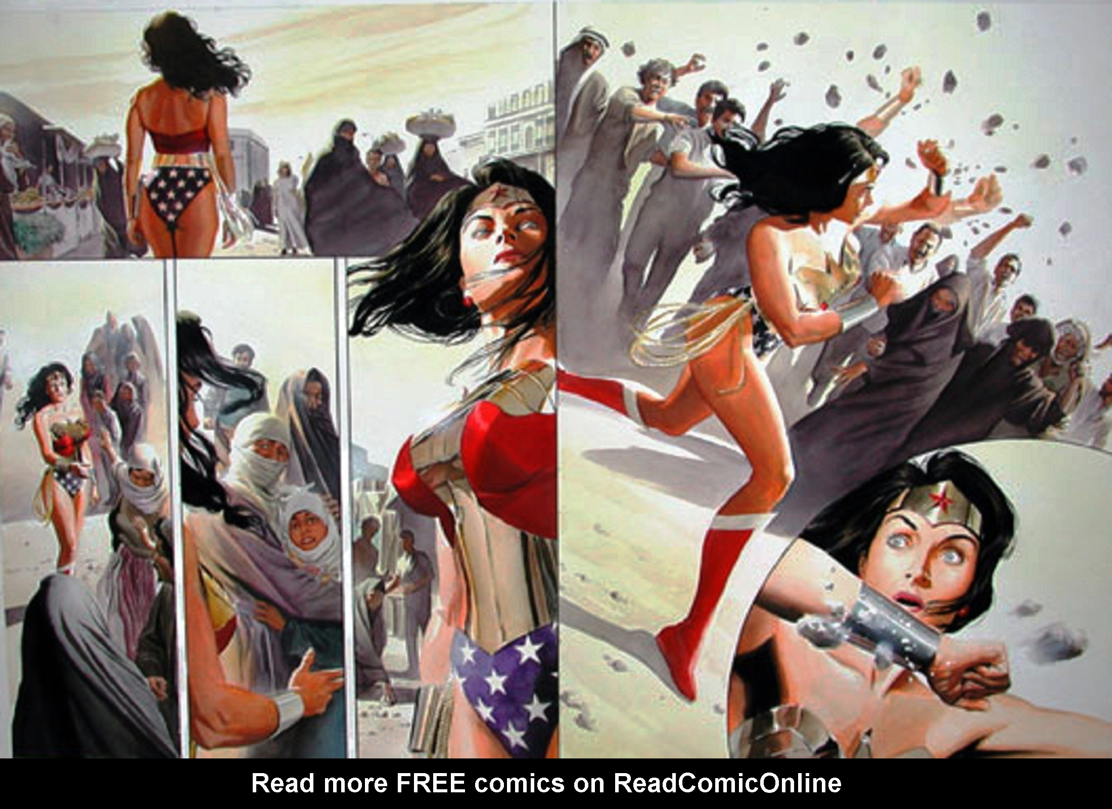 Read online Wonder Woman: Spirit of Truth comic -  Issue # Full - 40