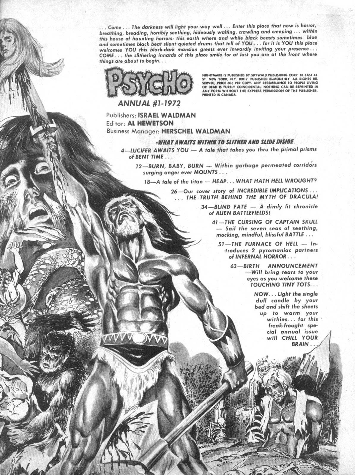 Psycho issue Annual - Page 4