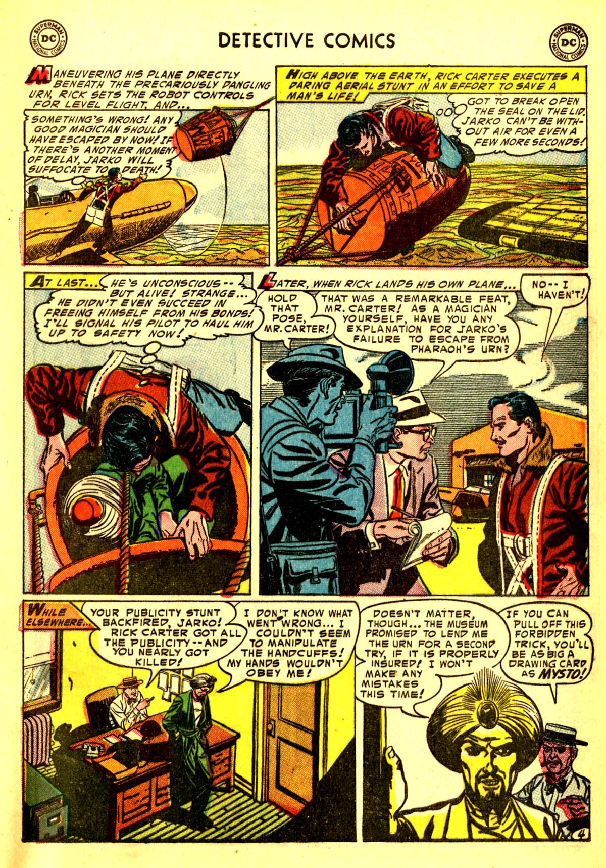 Read online Detective Comics (1937) comic -  Issue #211 - 37