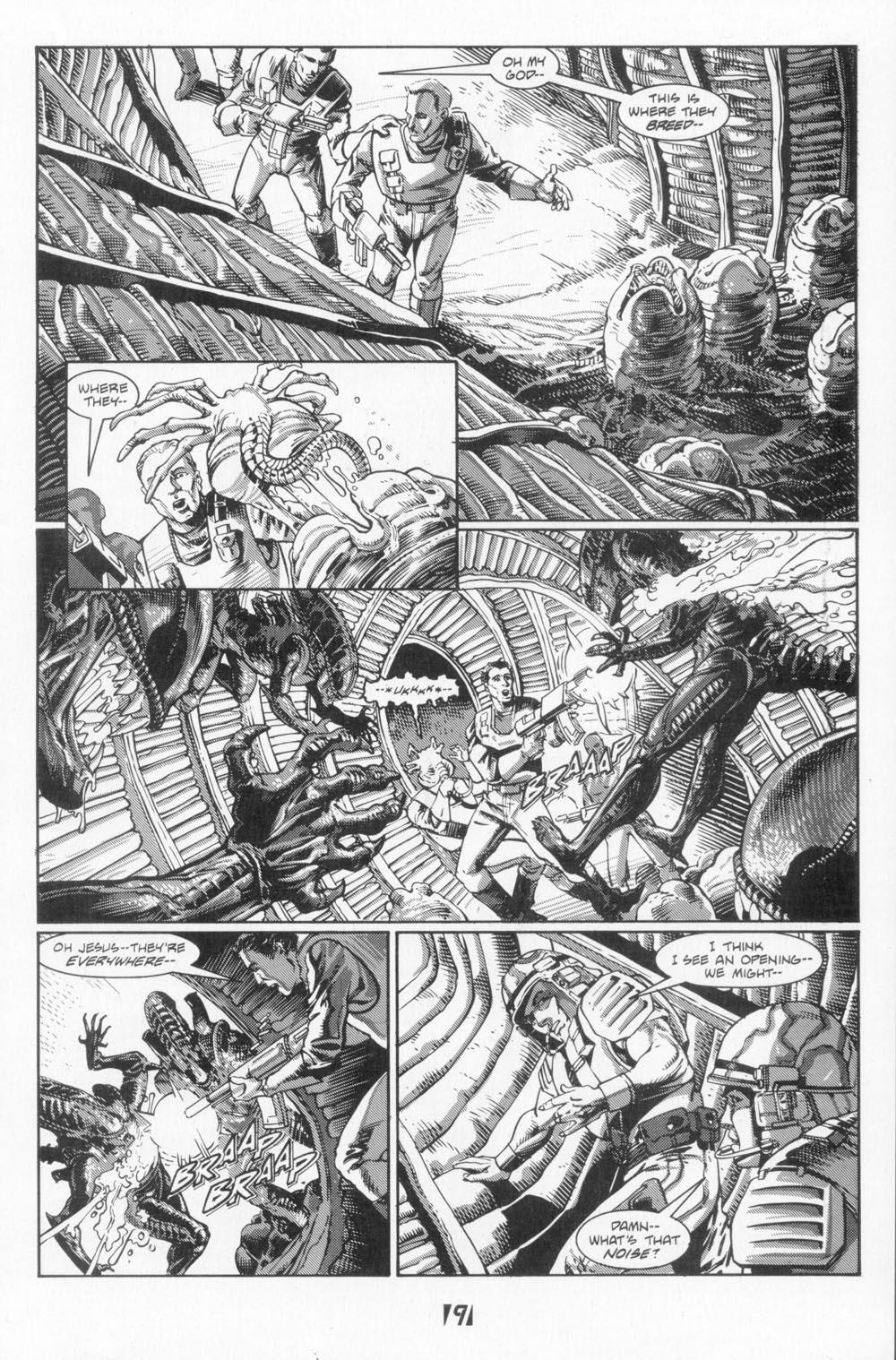 Read online Aliens (1988) comic -  Issue #5 - 11