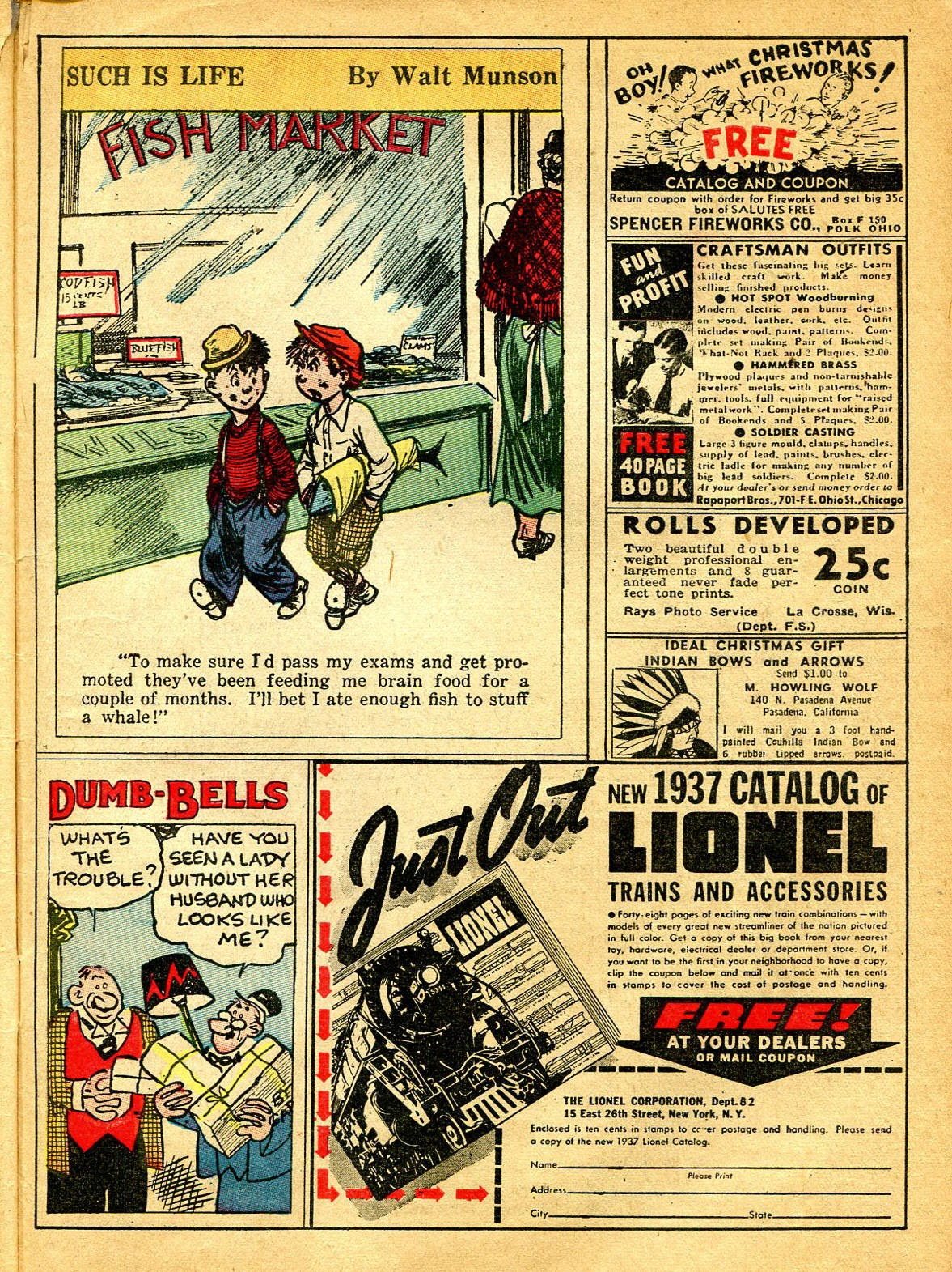 Read online Famous Funnies comic -  Issue #41 - 11