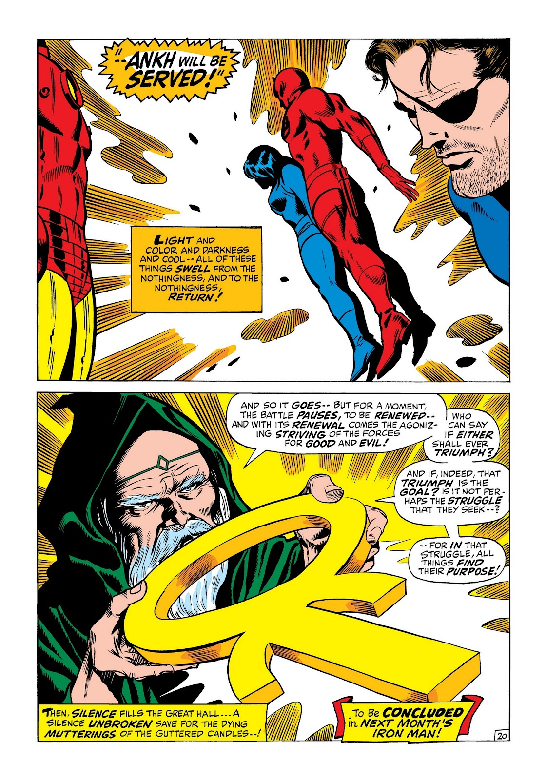 Read online Marvel Masterworks: The Invincible Iron Man comic -  Issue # TPB 7 (Part 3) - 28