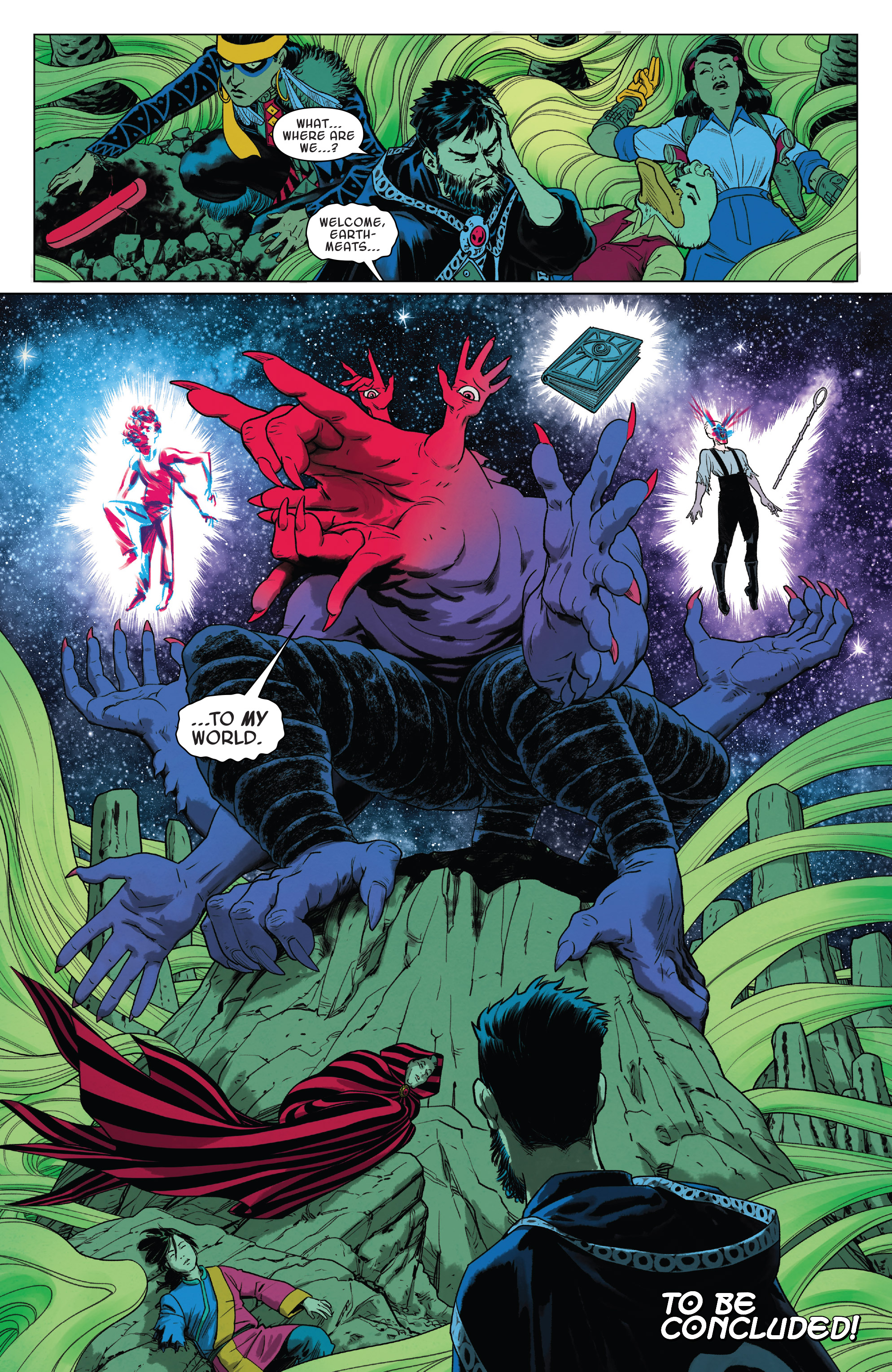 Read online Doctor Strange and the Sorcerers Supreme comic -  Issue #8 - 20