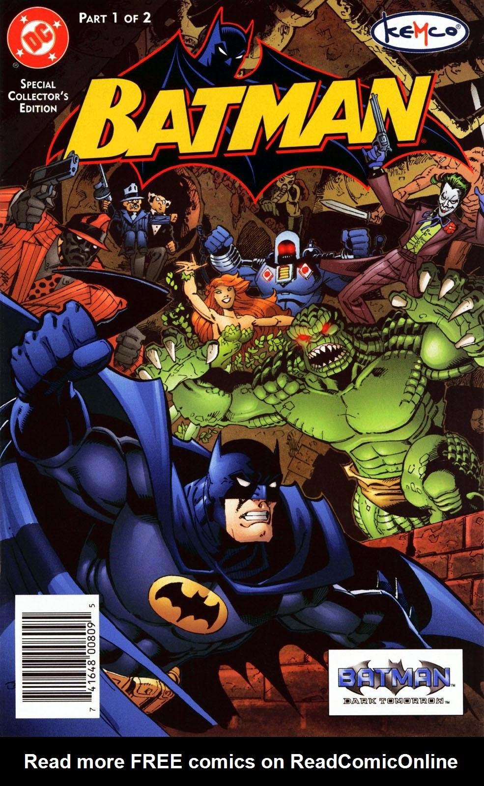 Batman: Dark Tomorrow 1 Page 1