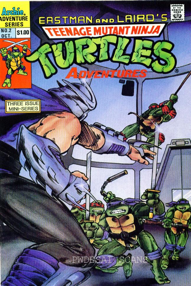 Teenage Mutant Ninja Turtles Adventures (1988) 2 Page 1