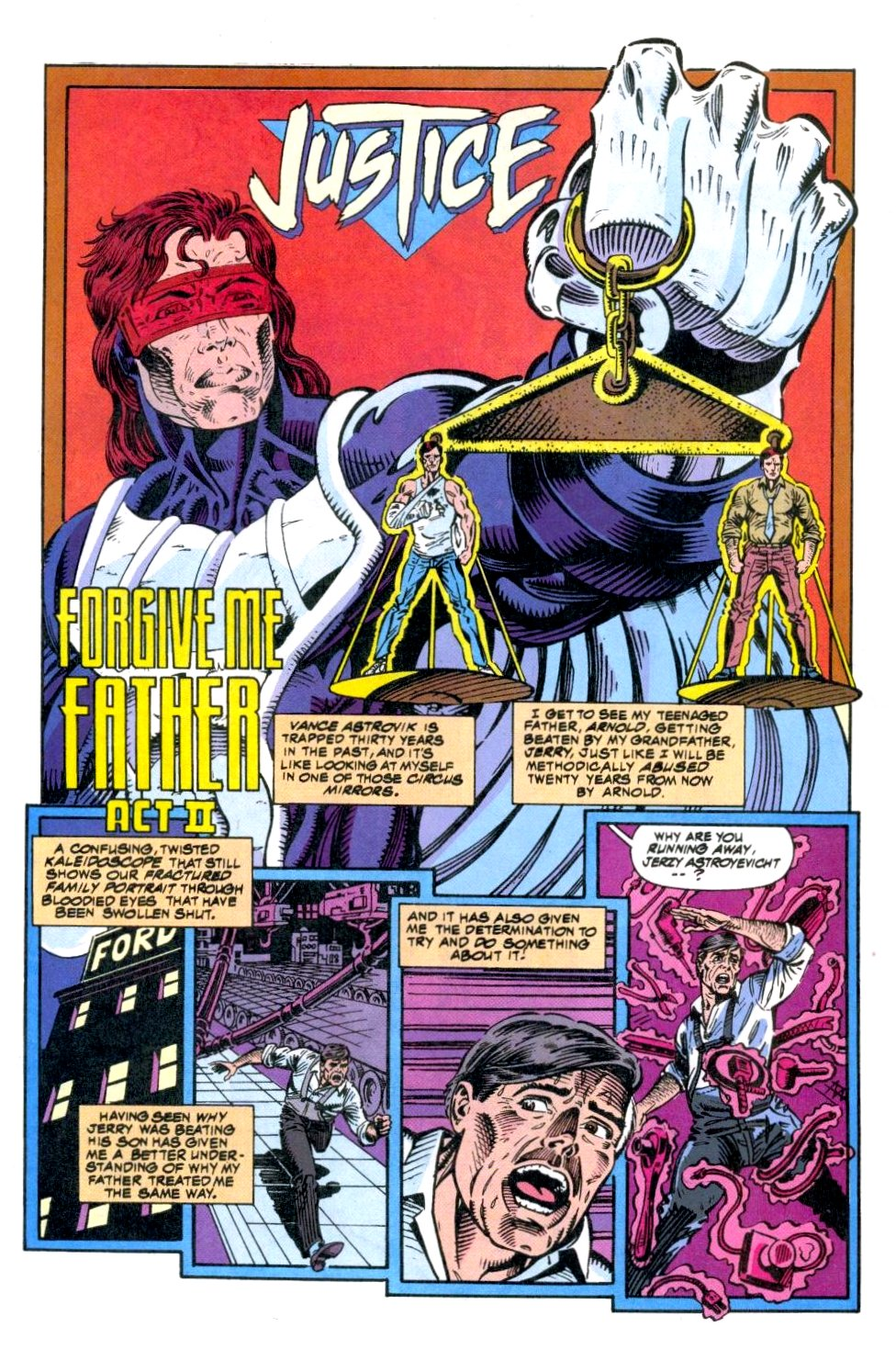 The New Warriors Issue #49 #53 - English 7