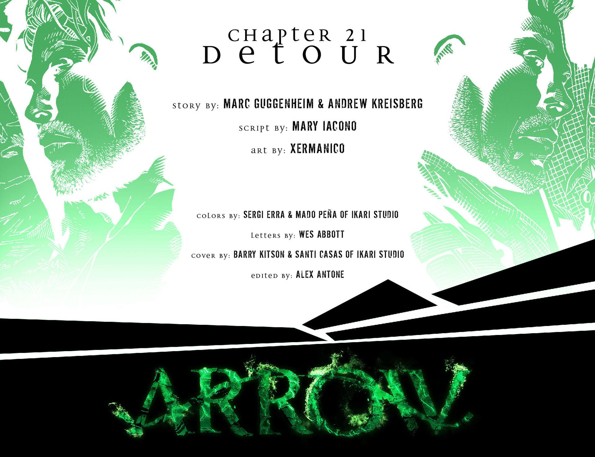 Read online Arrow [II] comic -  Issue #21 - 2