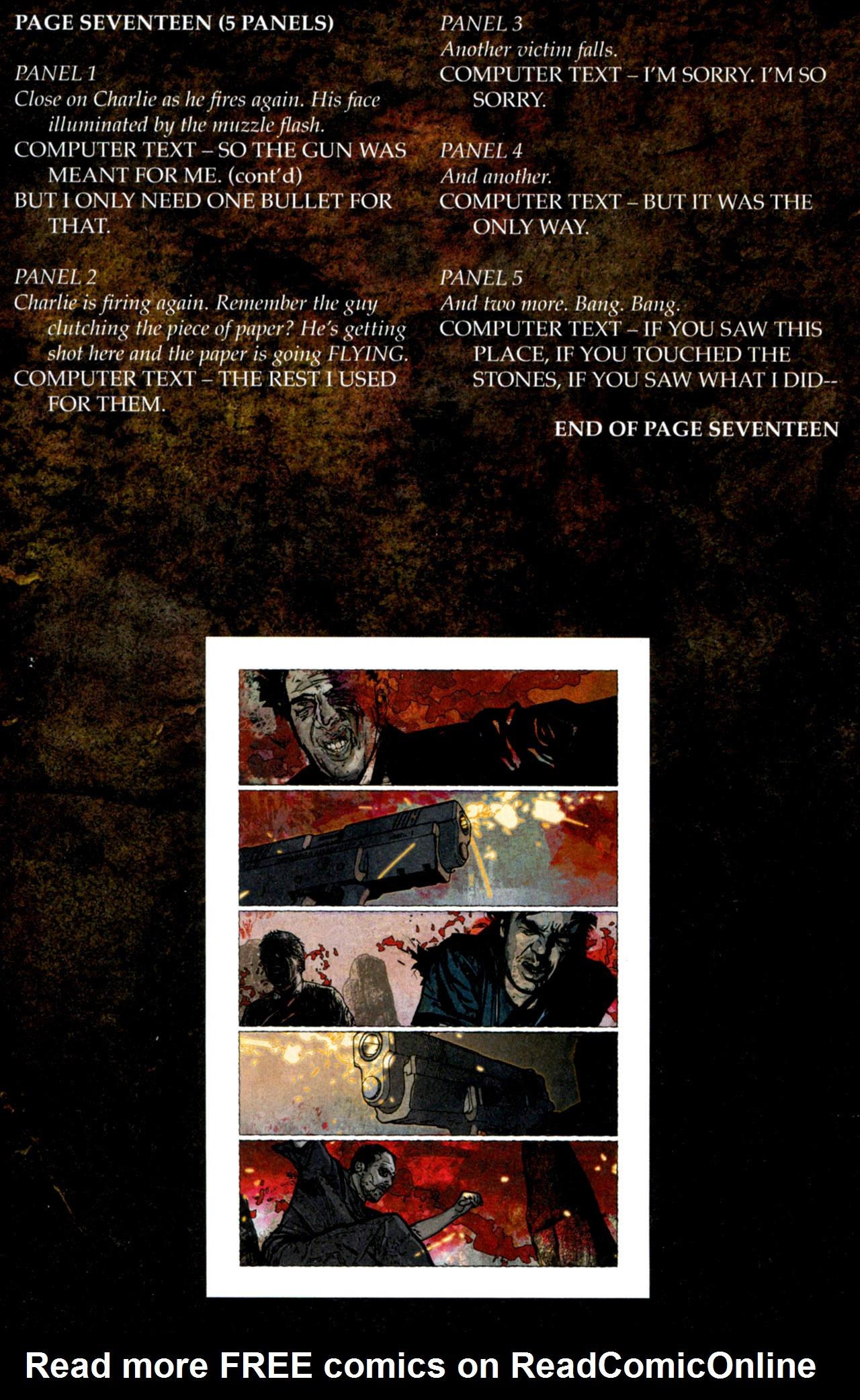 Read online Stephen King's N. comic -  Issue #4 - 31