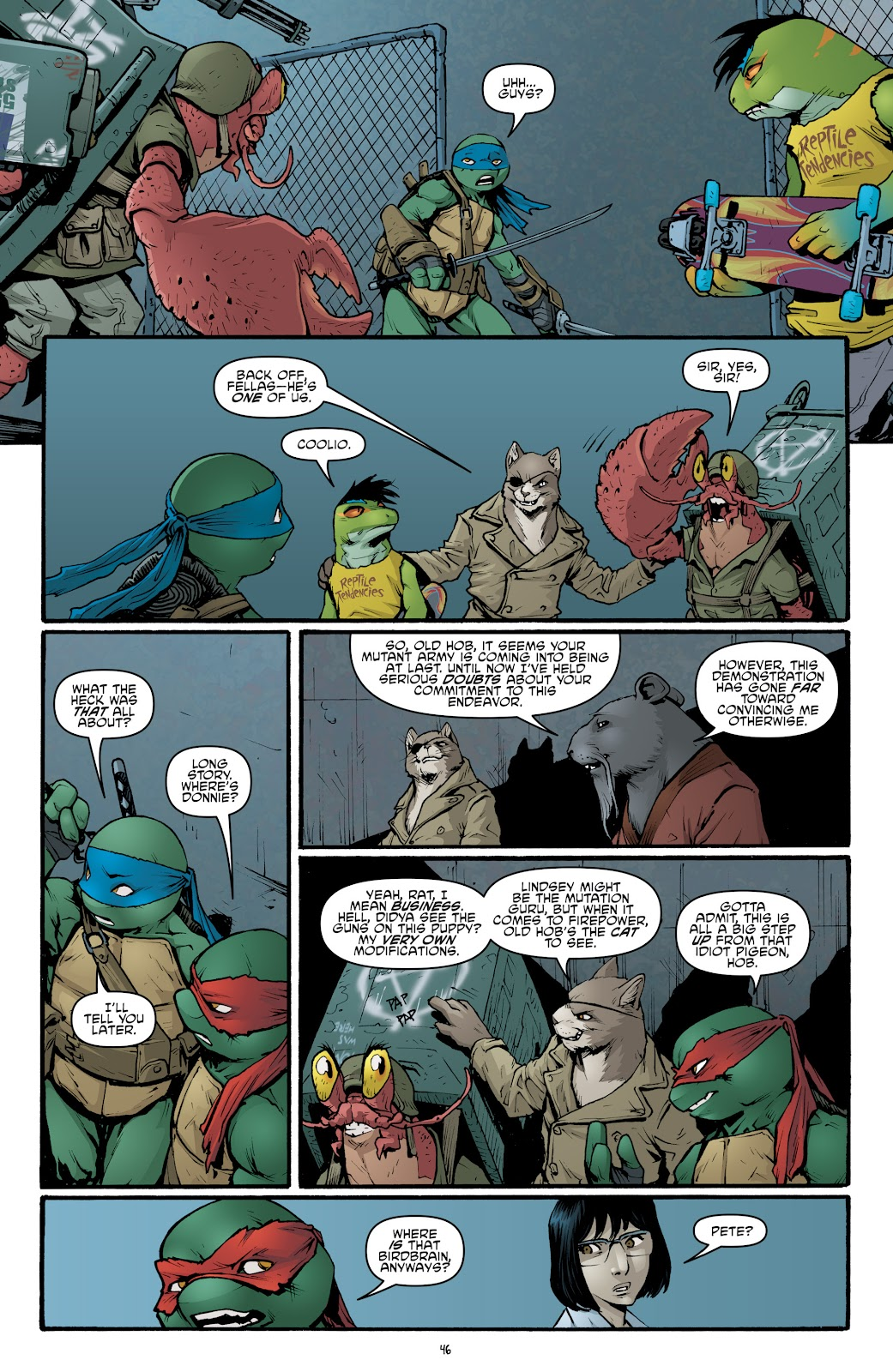 Read online Teenage Mutant Ninja Turtles: The IDW Collection comic -  Issue # TPB 5 (Part 2) - 22