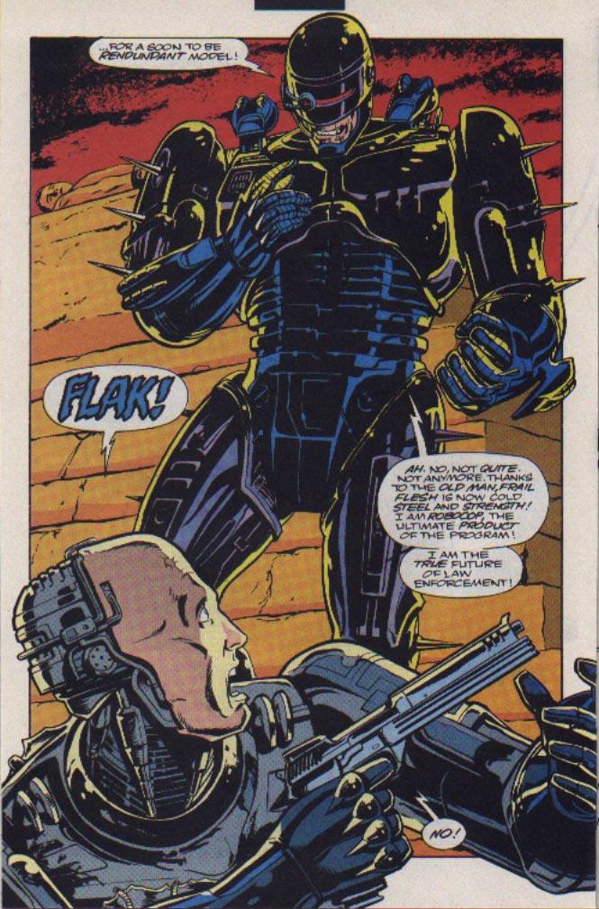 Read online Robocop (1990) comic -  Issue #23 - 16