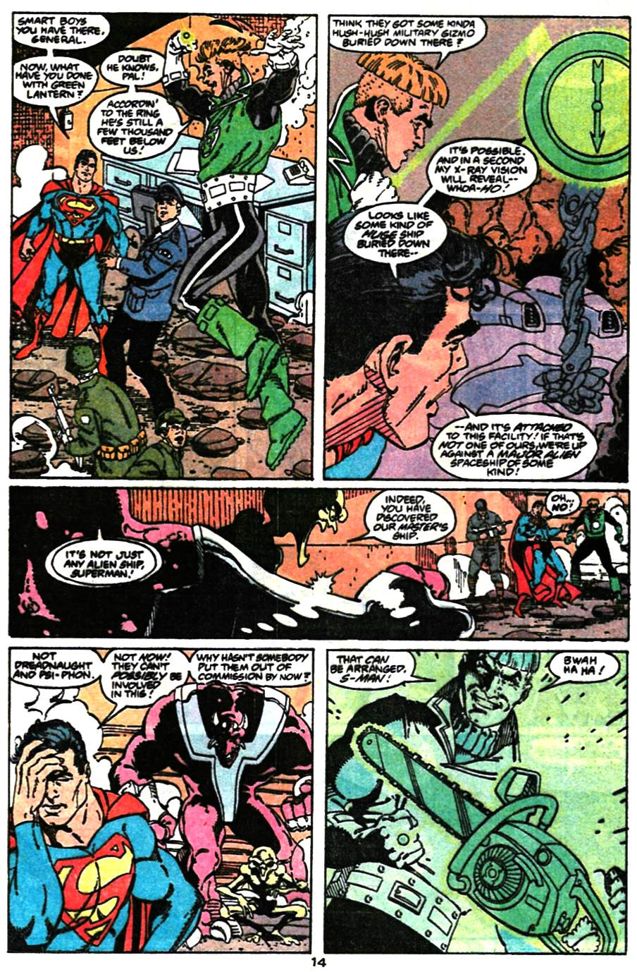 Read online Adventures of Superman (1987) comic -  Issue #473 - 16