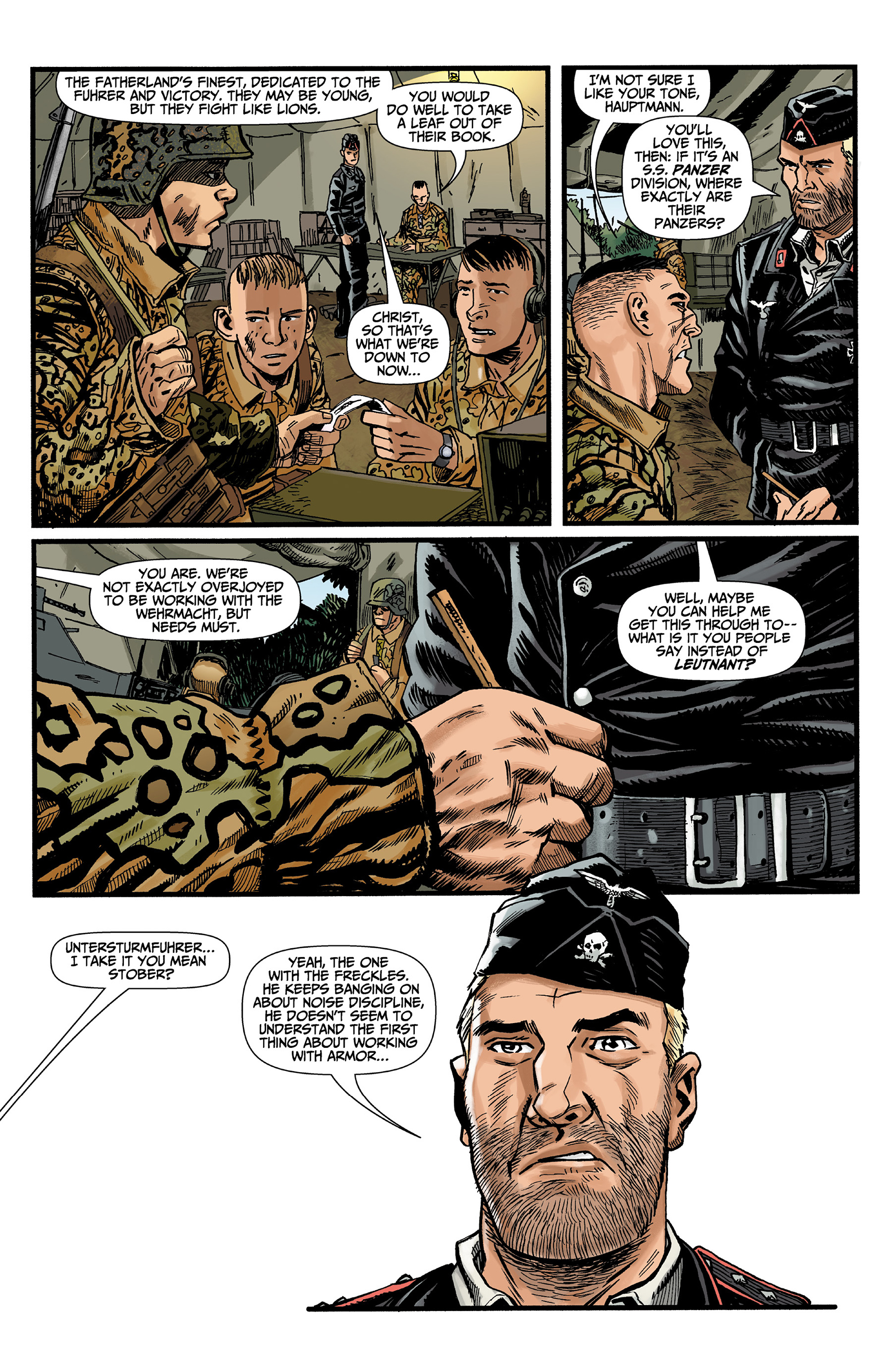 Read online World of Tanks comic -  Issue #3 - 7