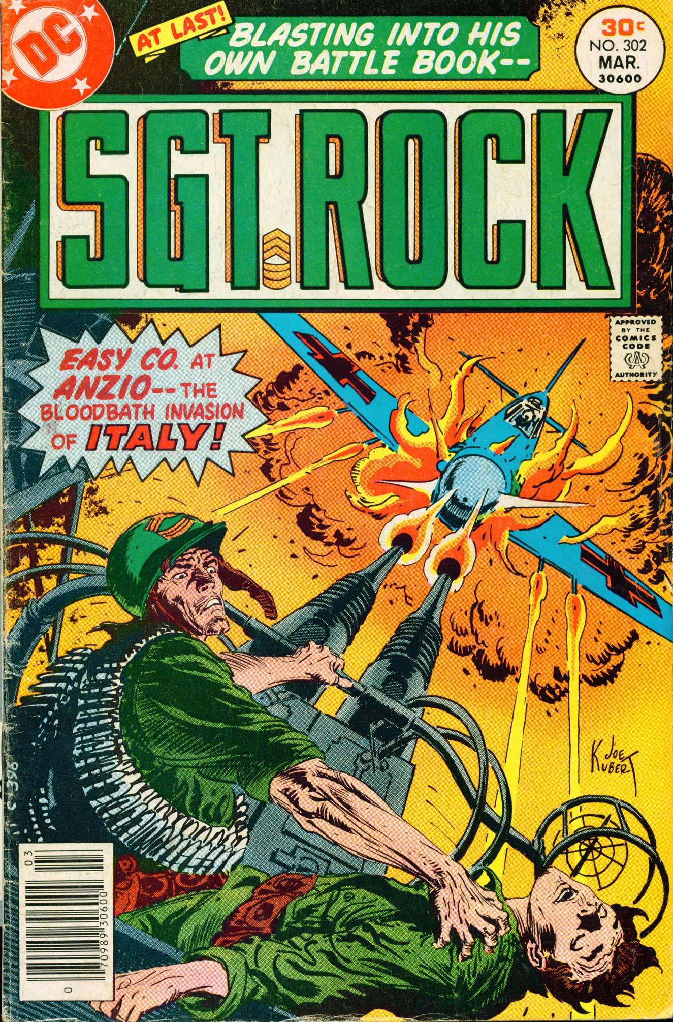 Read online Sgt. Rock comic -  Issue #302 - 1
