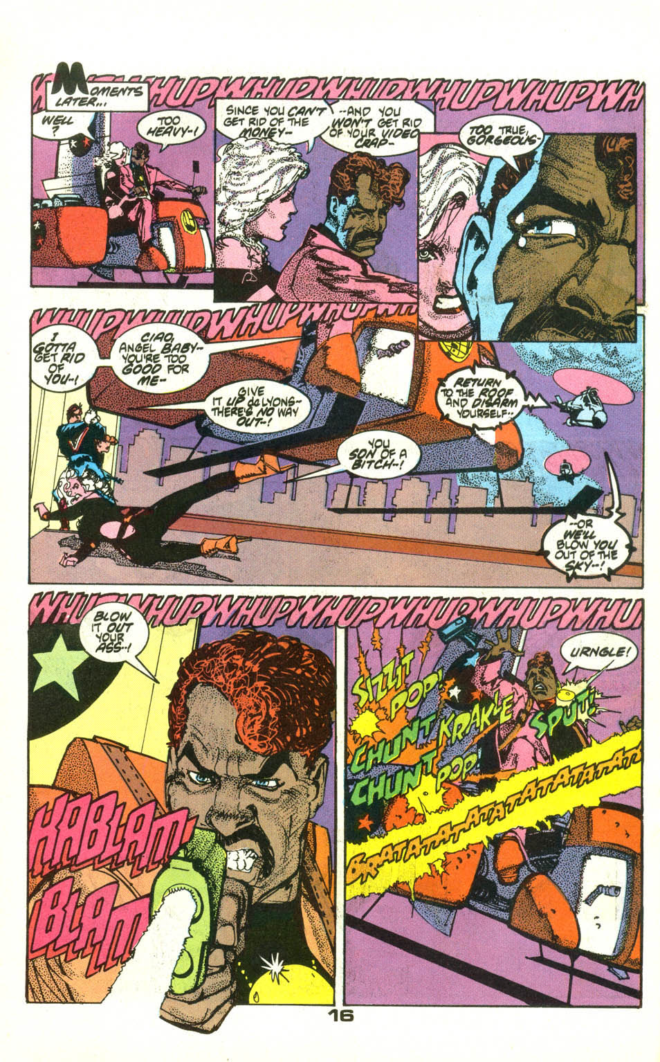 Read online American Flagg! comic -  Issue #22 - 18