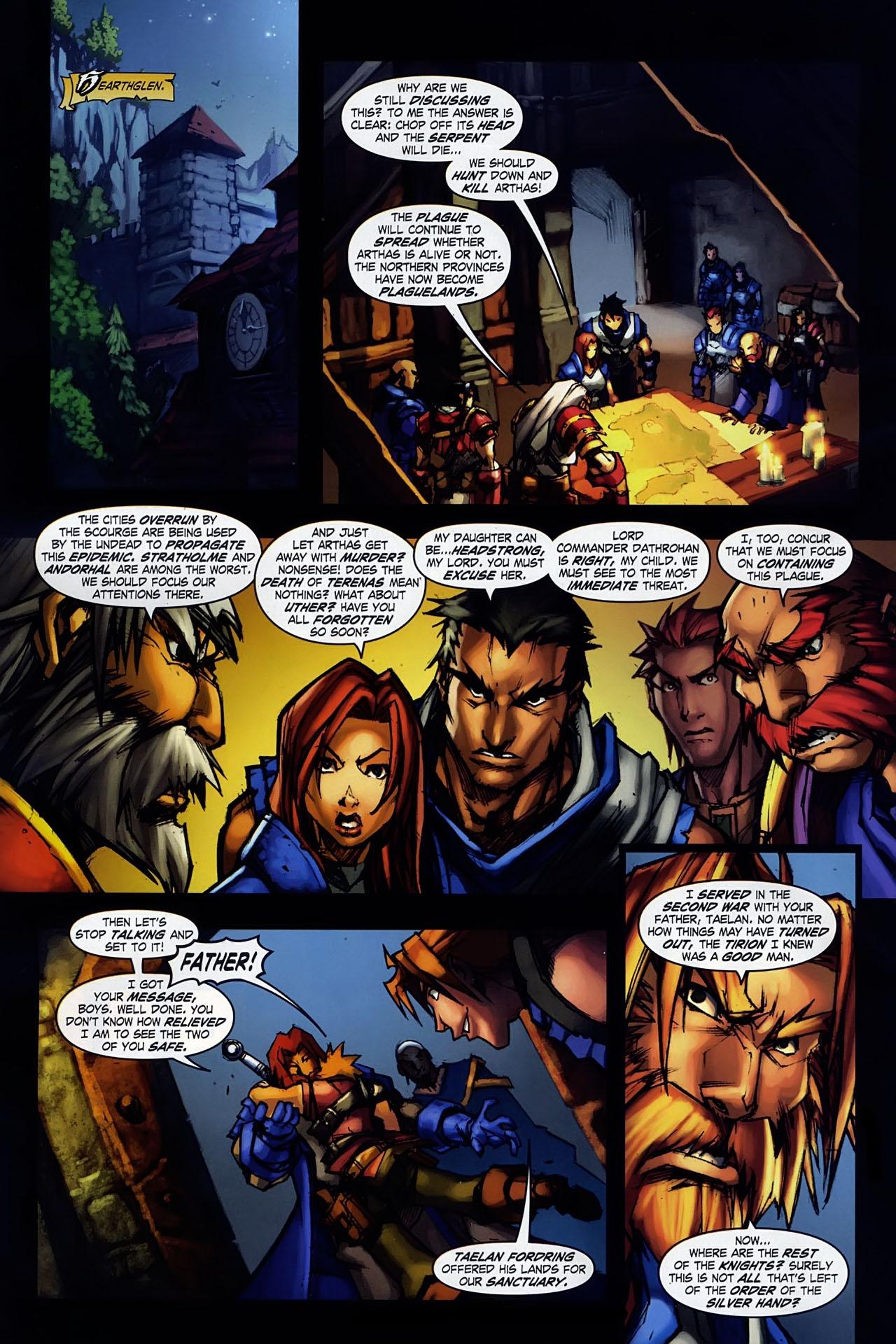 Read online World of Warcraft: Ashbringer comic -  Issue #1 - 17