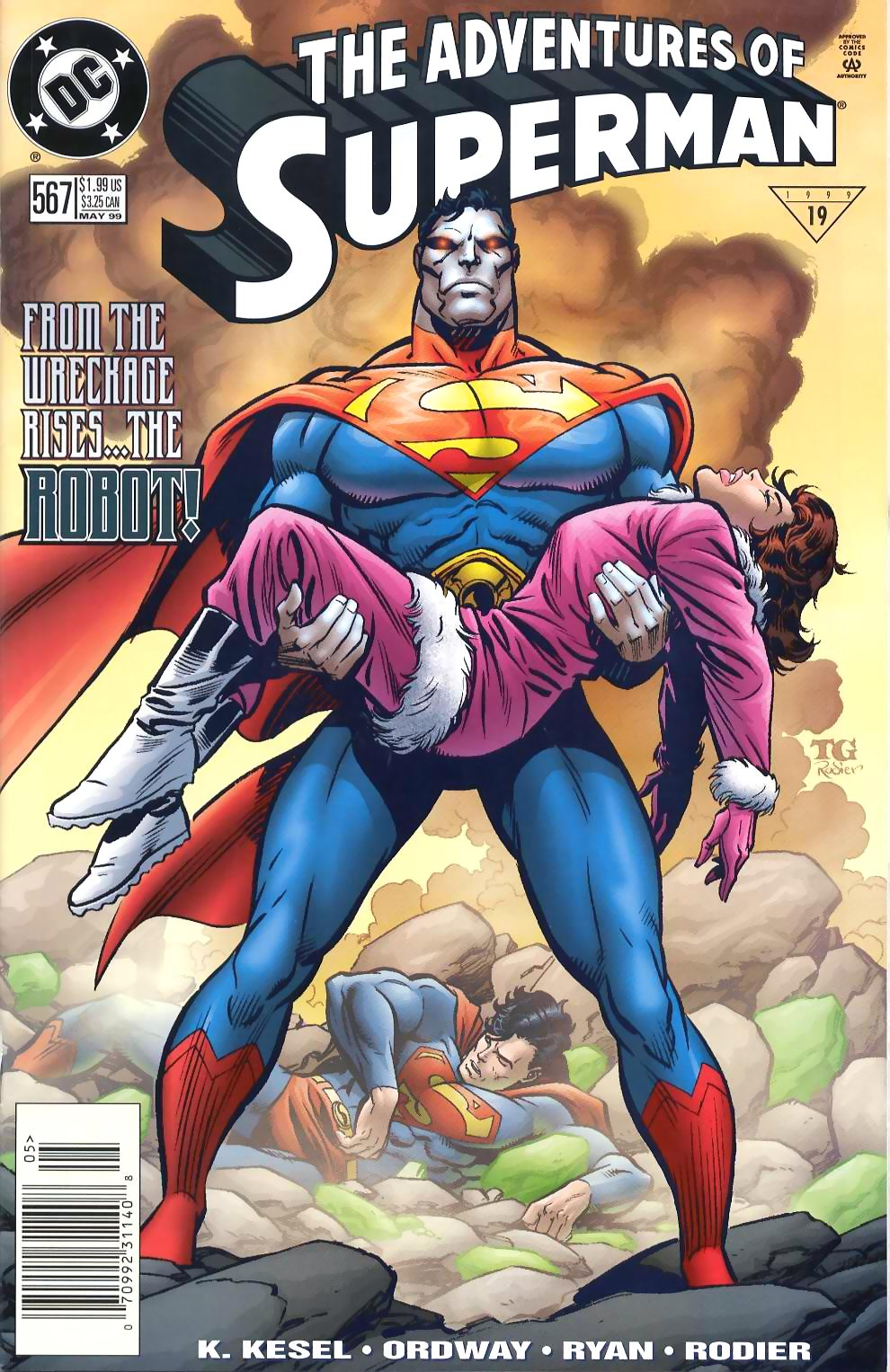 Read online Adventures of Superman (1987) comic -  Issue #567 - 1