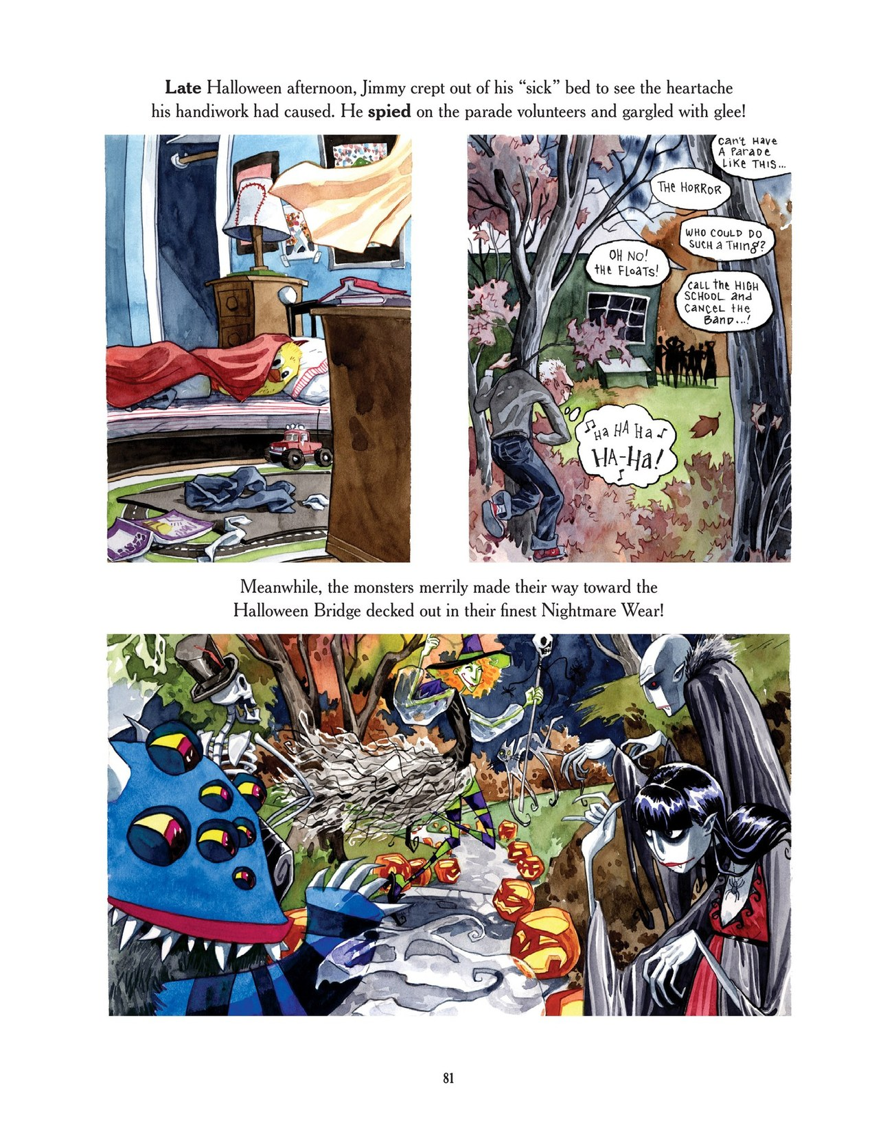 Read online Scary Godmother comic -  Issue # TPB - 81