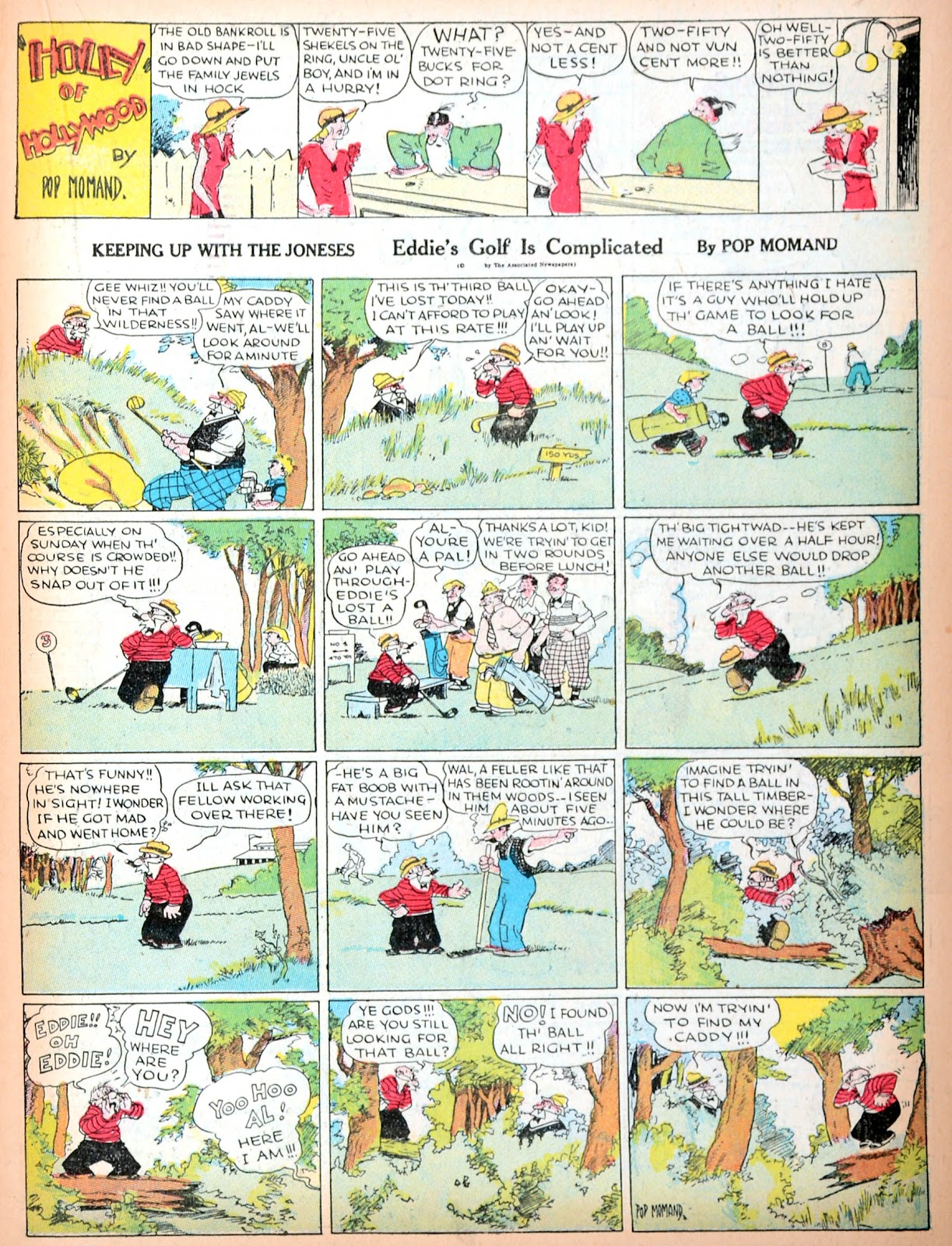 Read online Famous Funnies comic -  Issue #11 - 35