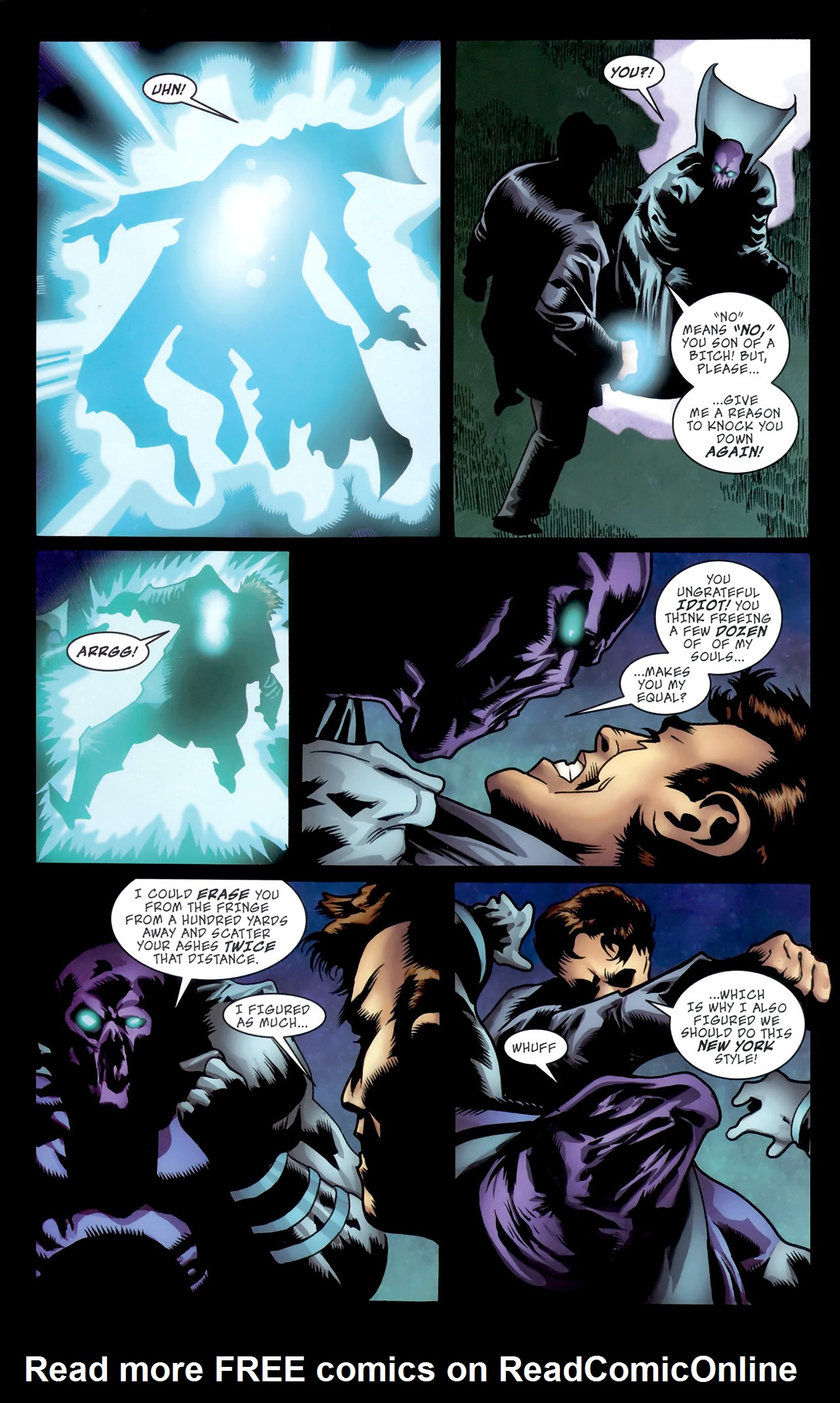 Read online The Grim Ghost comic -  Issue #5 - 20