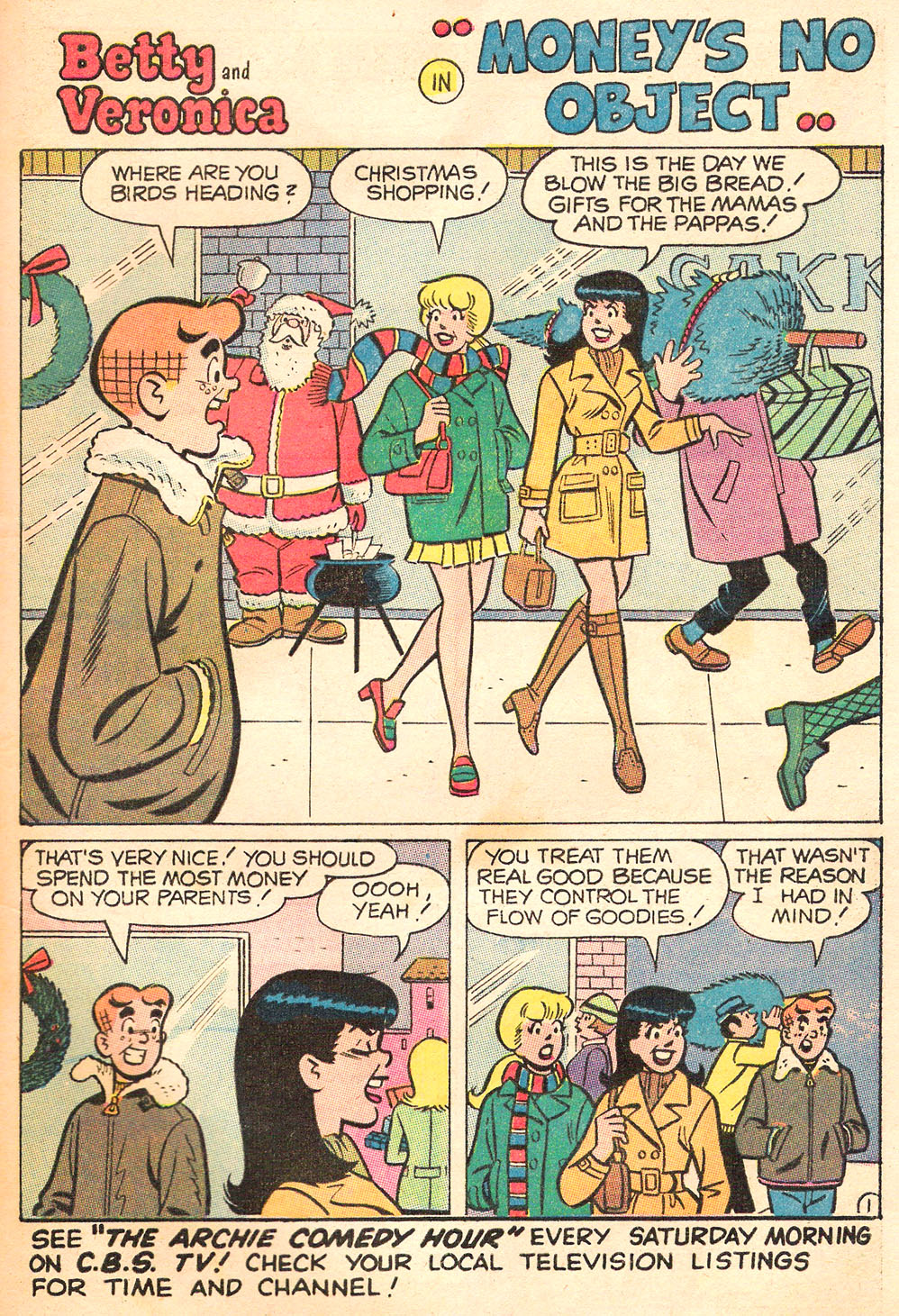Read online Archie's Girls Betty and Veronica comic -  Issue #169 - 29