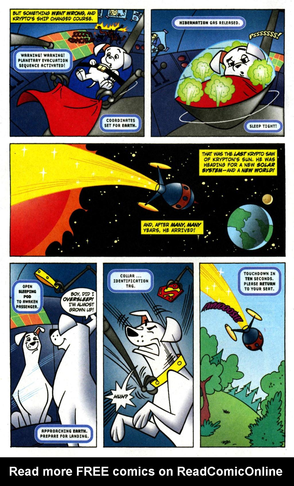 Read online Krypto the Superdog comic -  Issue #1 - 3