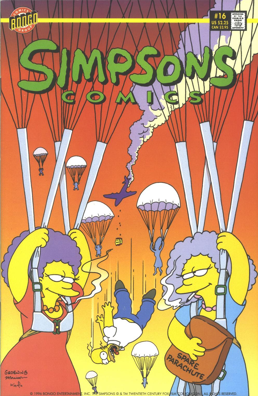 Read online Simpsons Comics comic -  Issue #16 - 1