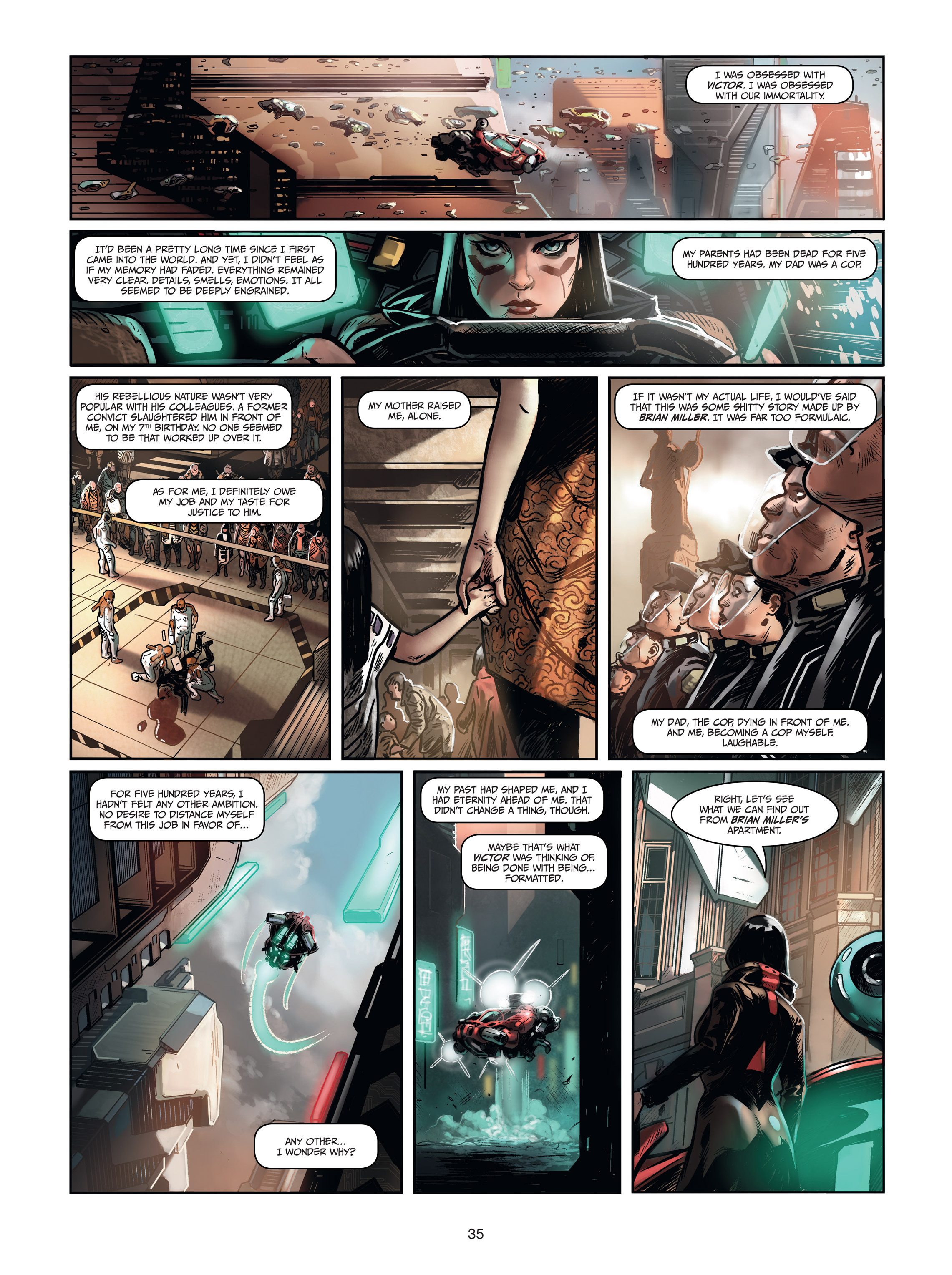 Read online Androïds comic -  Issue #1 - 33