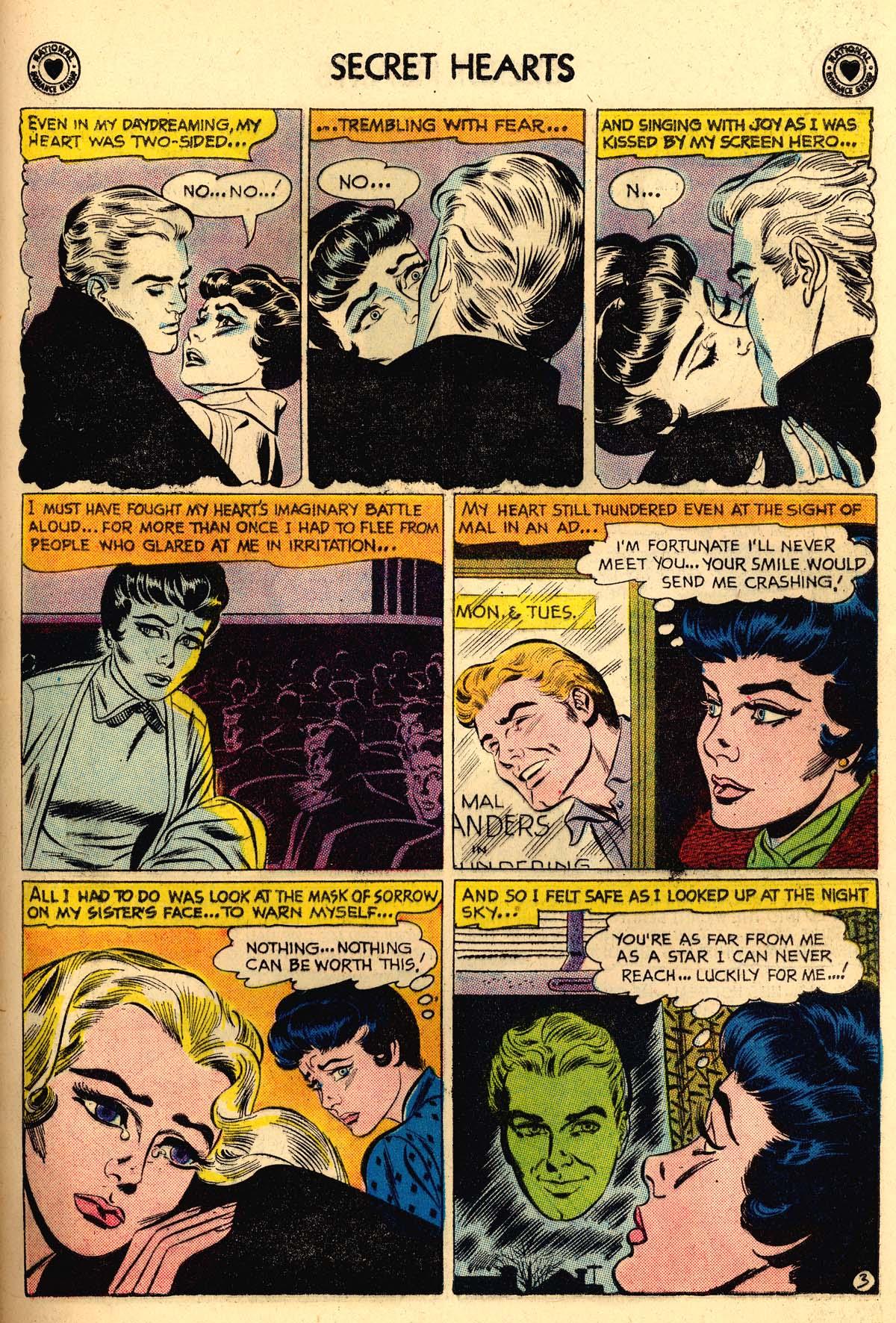 Read online Secret Hearts comic -  Issue #56 - 29