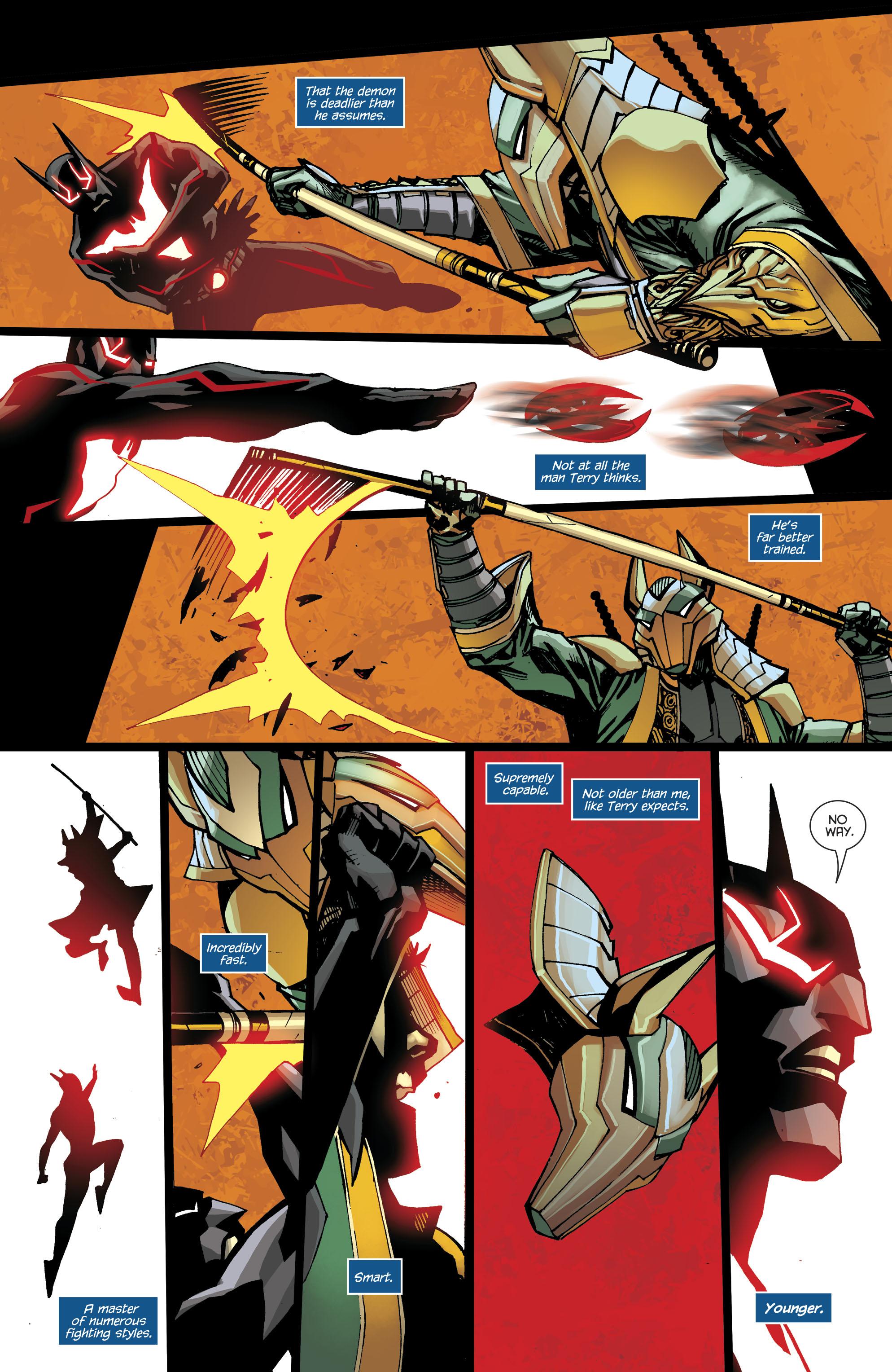 Read online Batman Beyond (2016) comic -  Issue #8 - 21