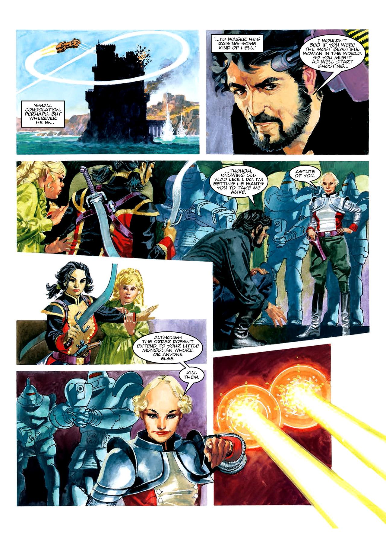 Read online Nikolai Dante comic -  Issue # TPB 10 - 62