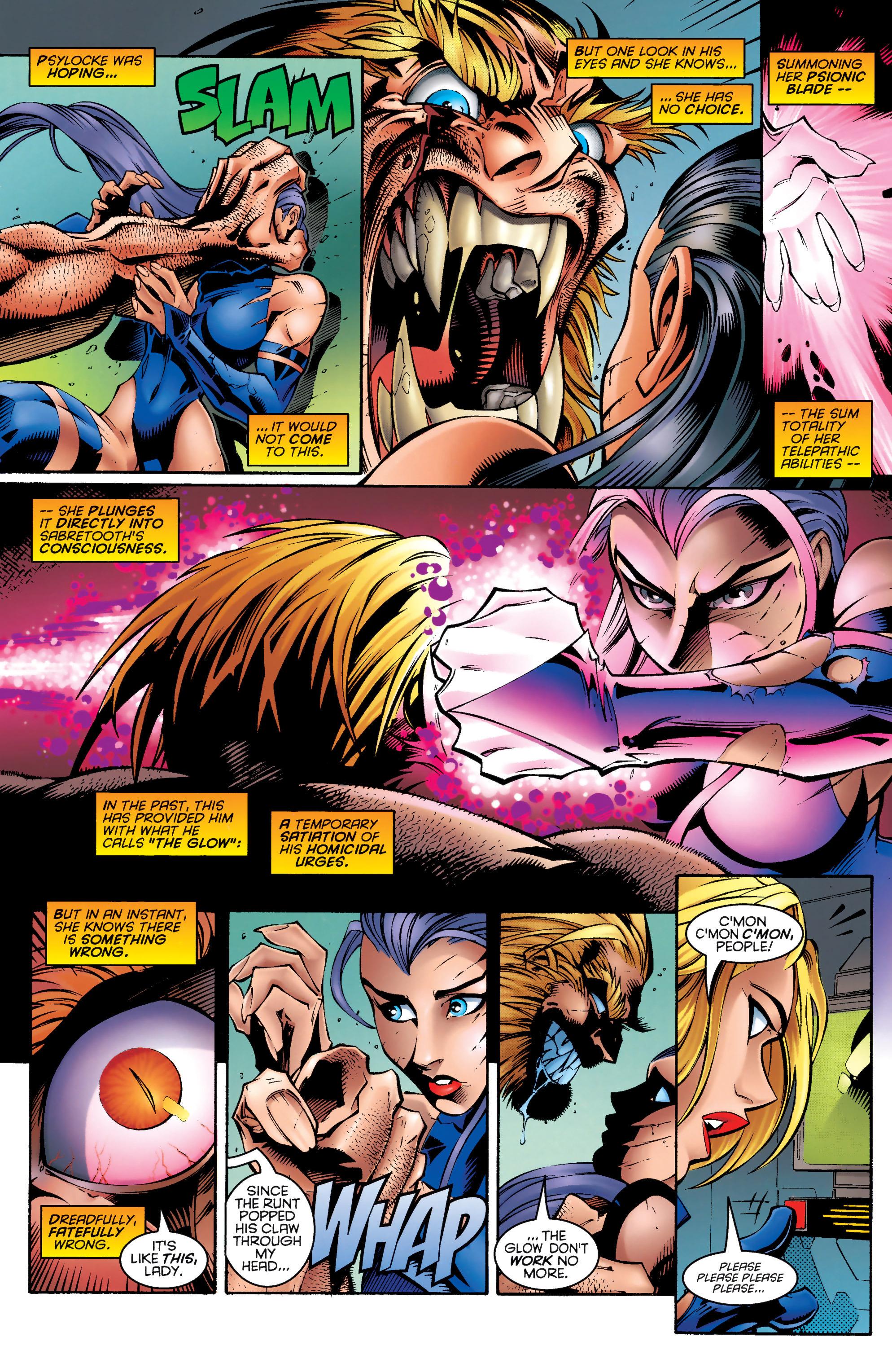 Read online Uncanny X-Men (1963) comic -  Issue #328 - 19